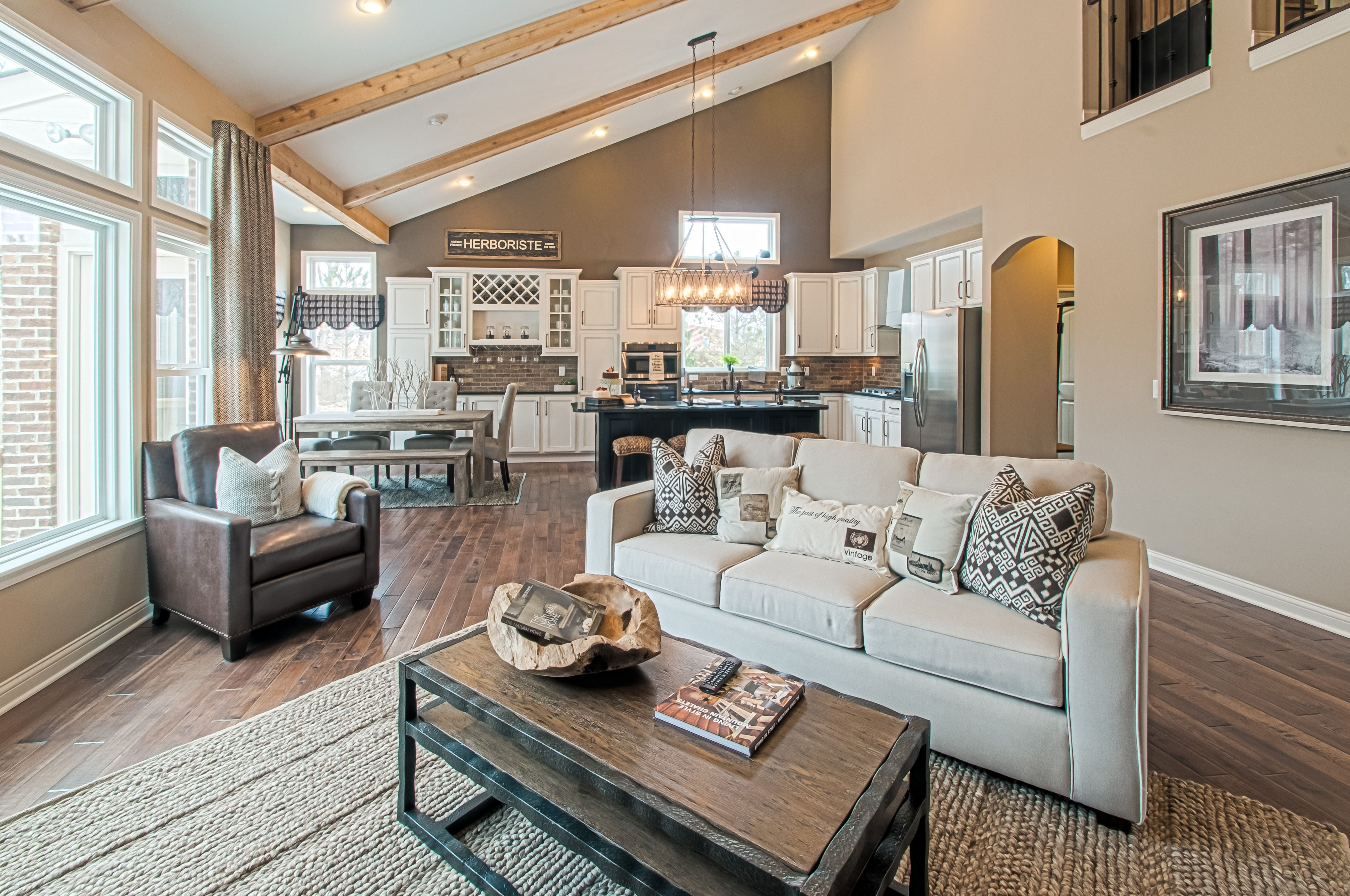 Living Area featured in the Blake By Fischer Homes  in Columbus, OH