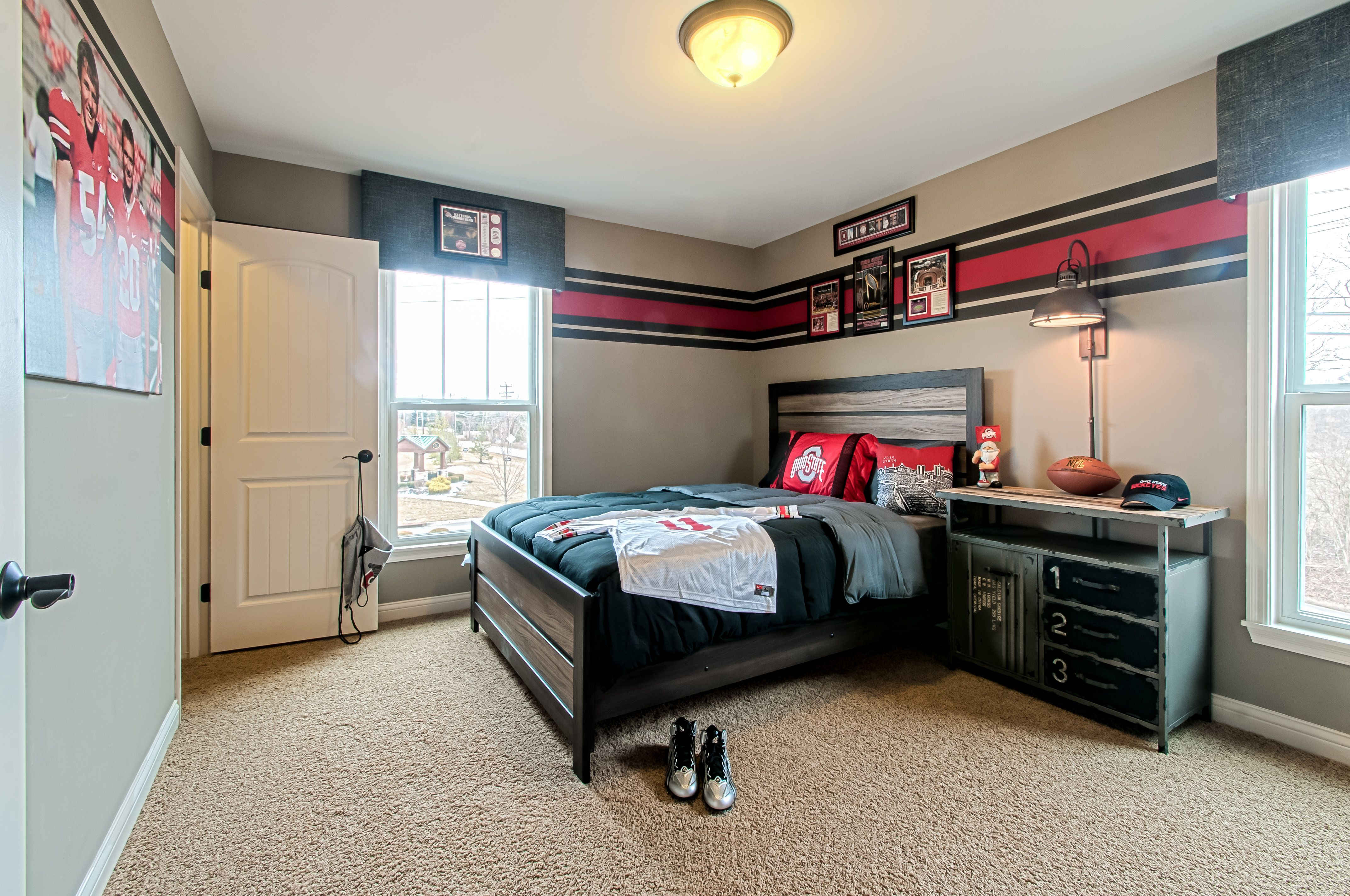 Bedroom featured in the Blake By Fischer Homes  in Columbus, OH
