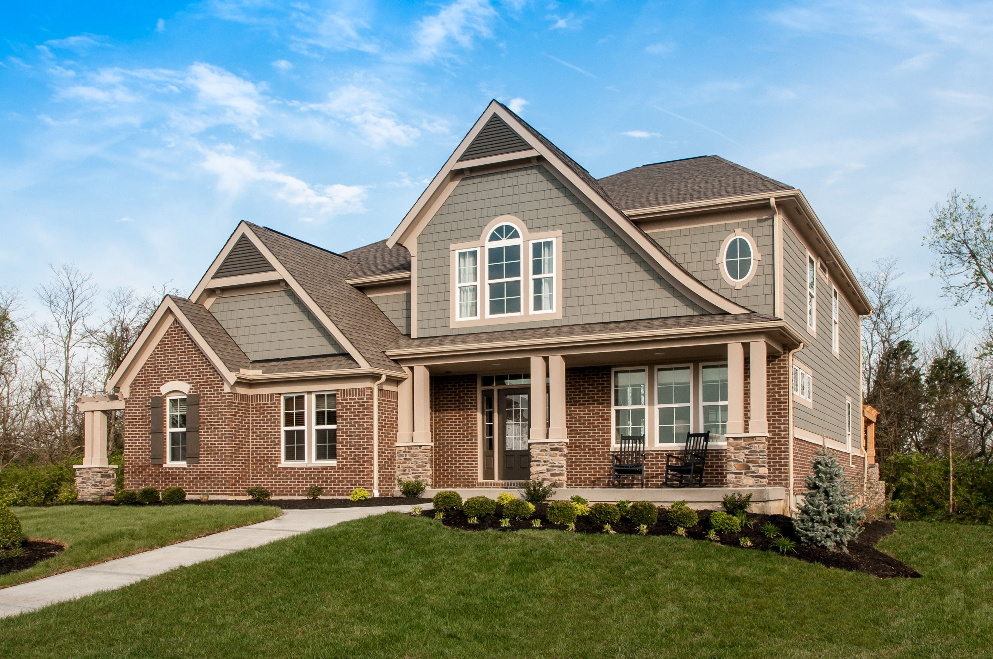 Exterior featured in the Clay By Fischer Homes  in Cincinnati, KY