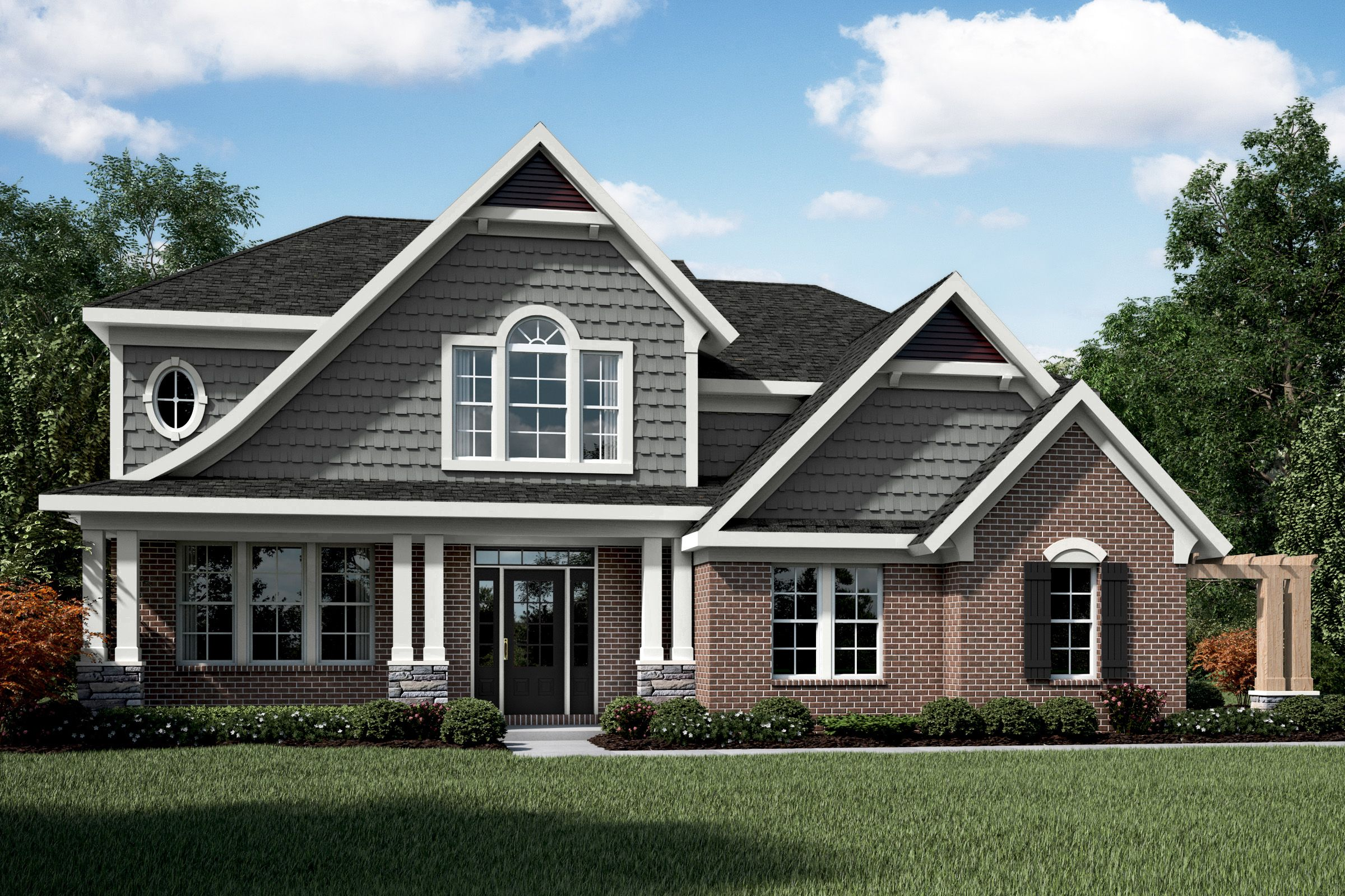 Exterior featured in the Clay By Fischer Homes  in Columbus, OH
