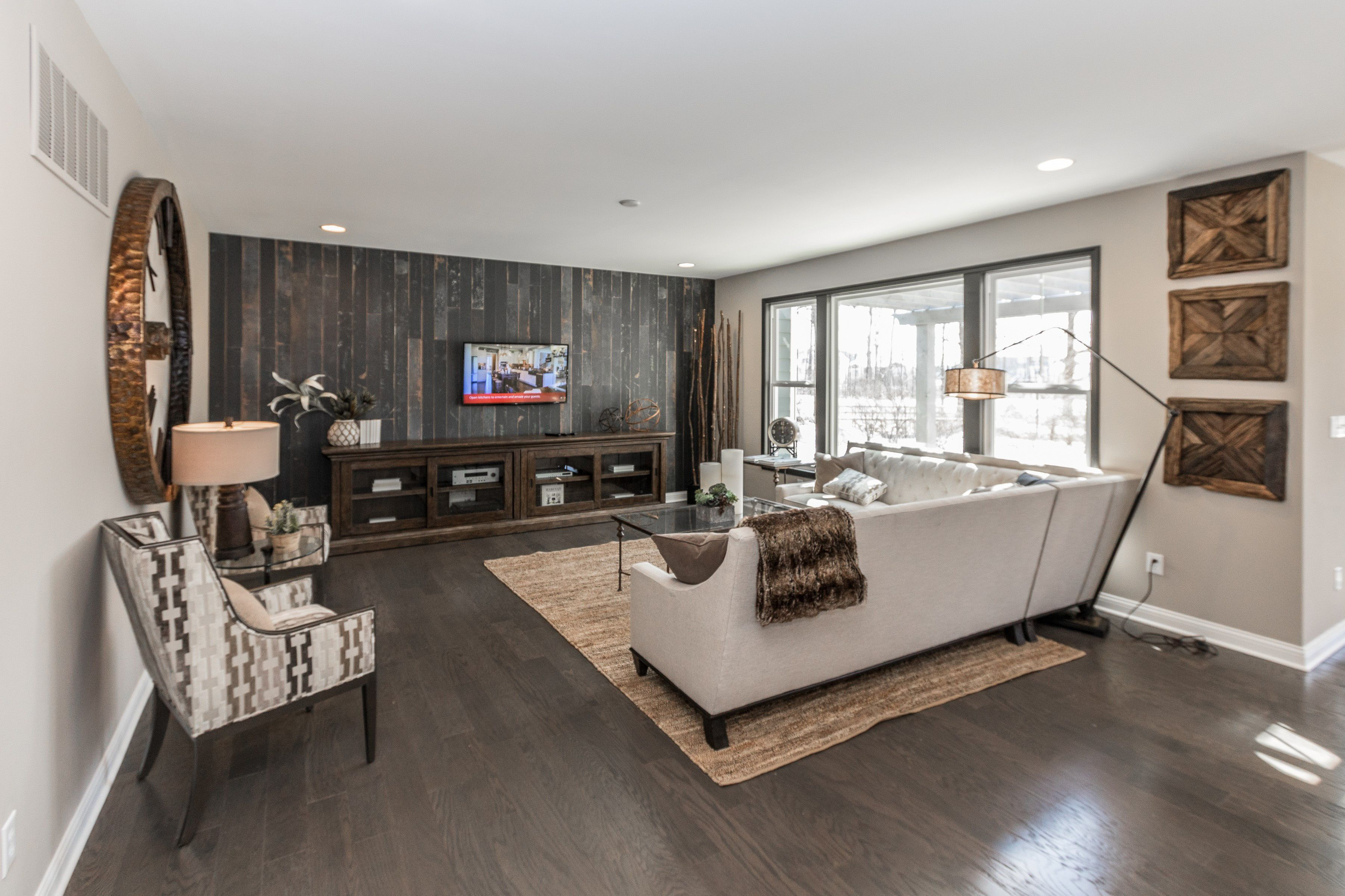 Living Area featured in the Bradford By Fischer Homes  in Columbus, OH