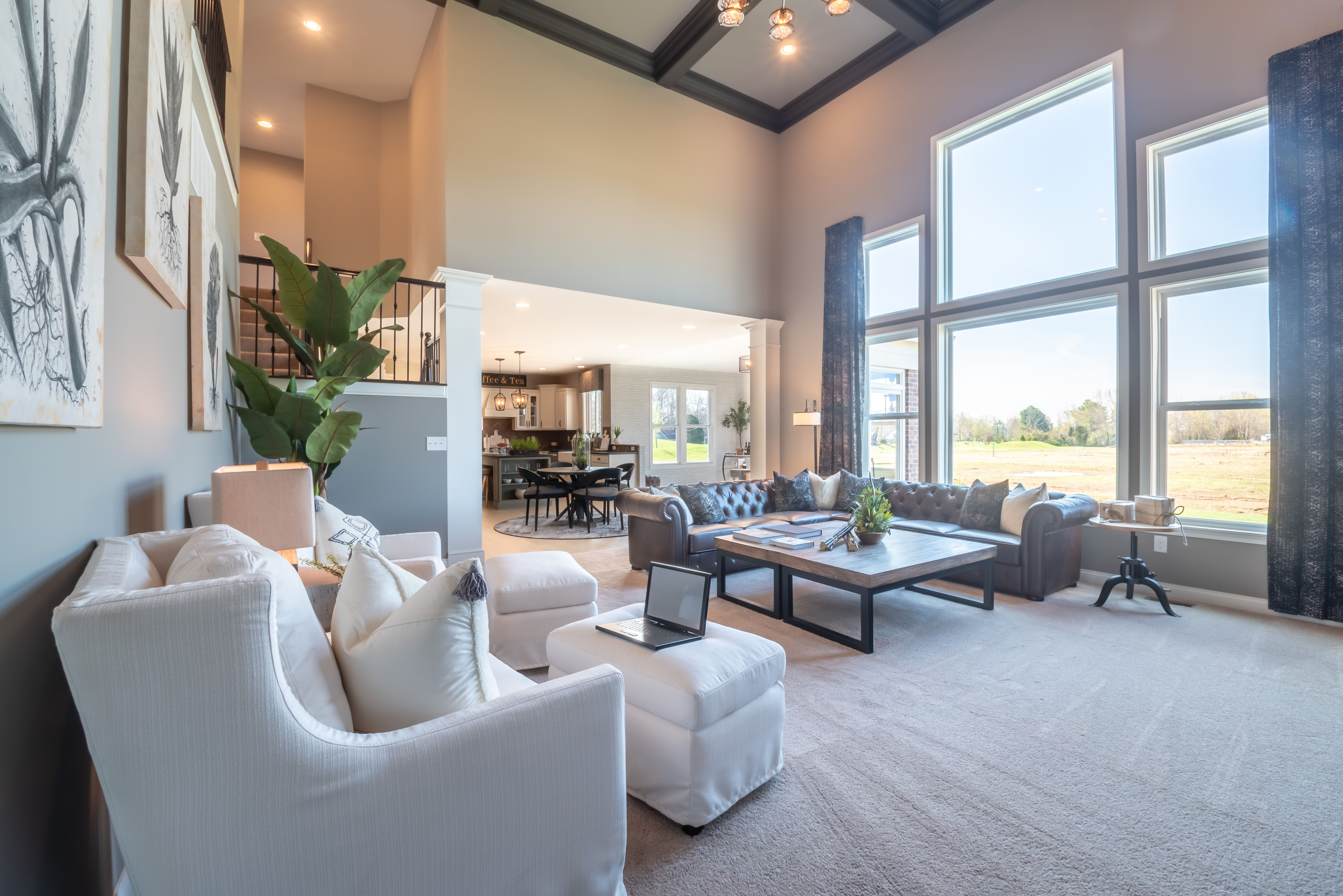 Living Area featured in the Andover By Fischer Homes  in Cincinnati, KY