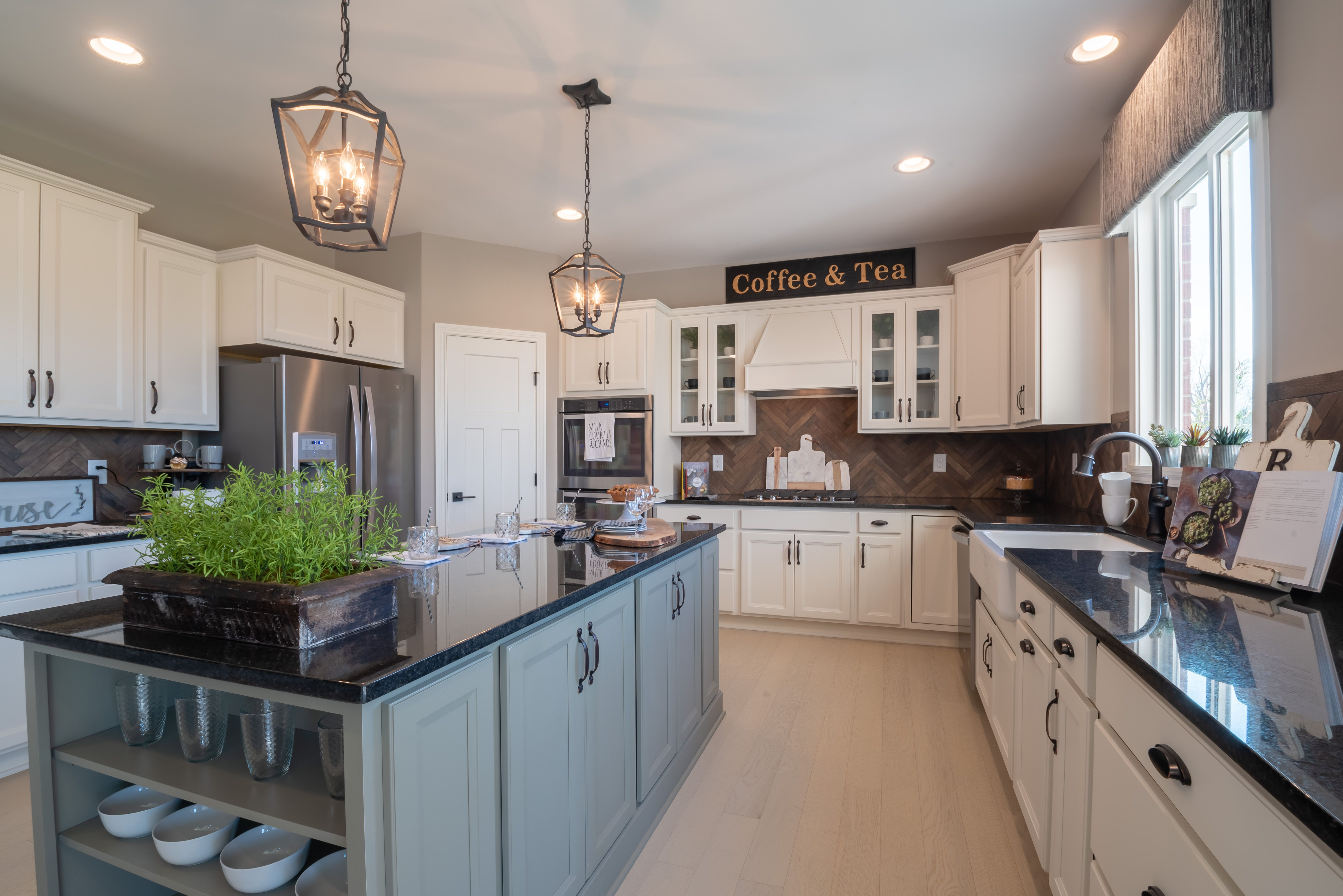 Kitchen featured in the Andover By Fischer Homes  in Cincinnati, KY