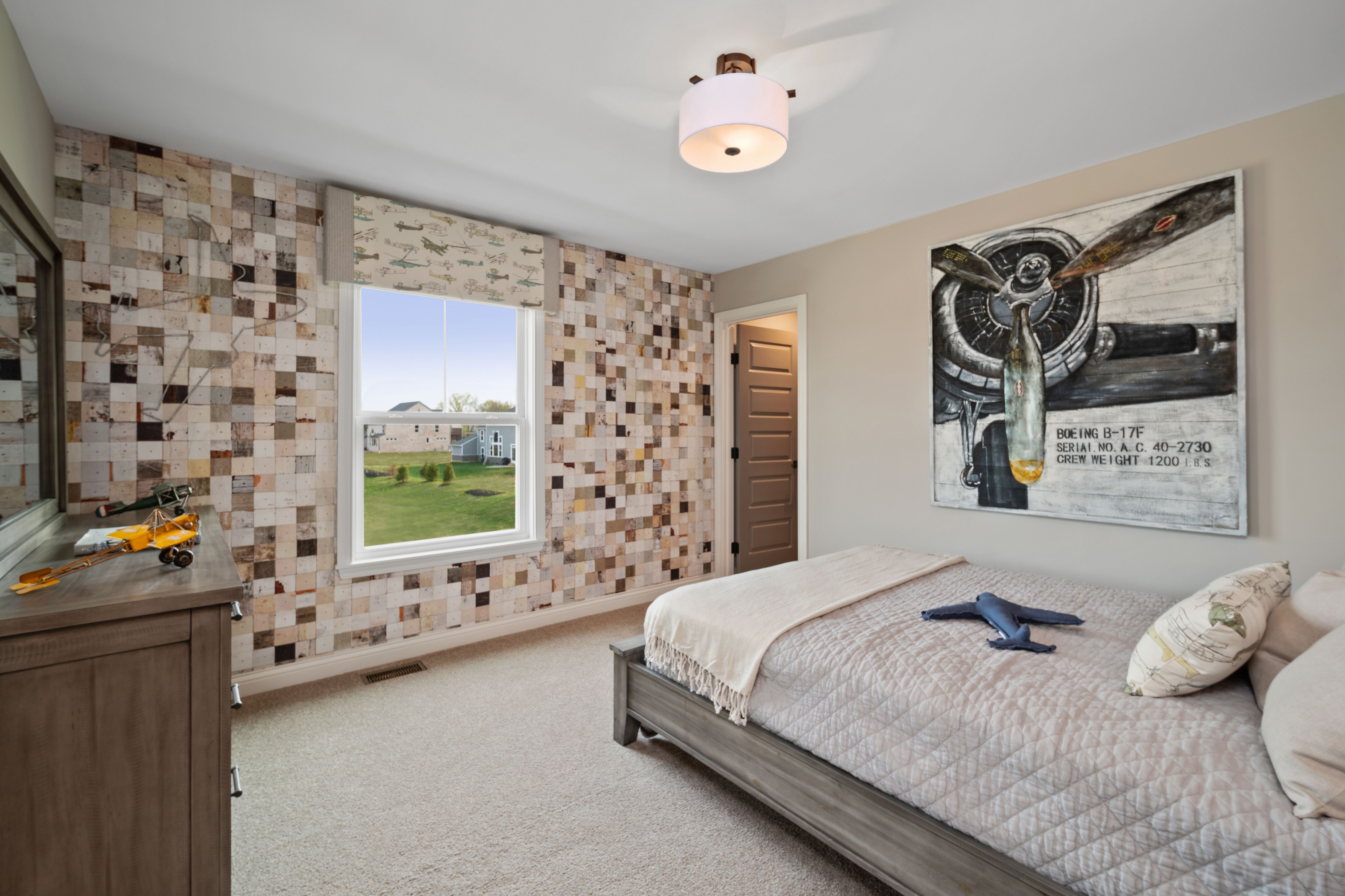 Bedroom featured in the Marshall By Fischer Homes  in Columbus, OH