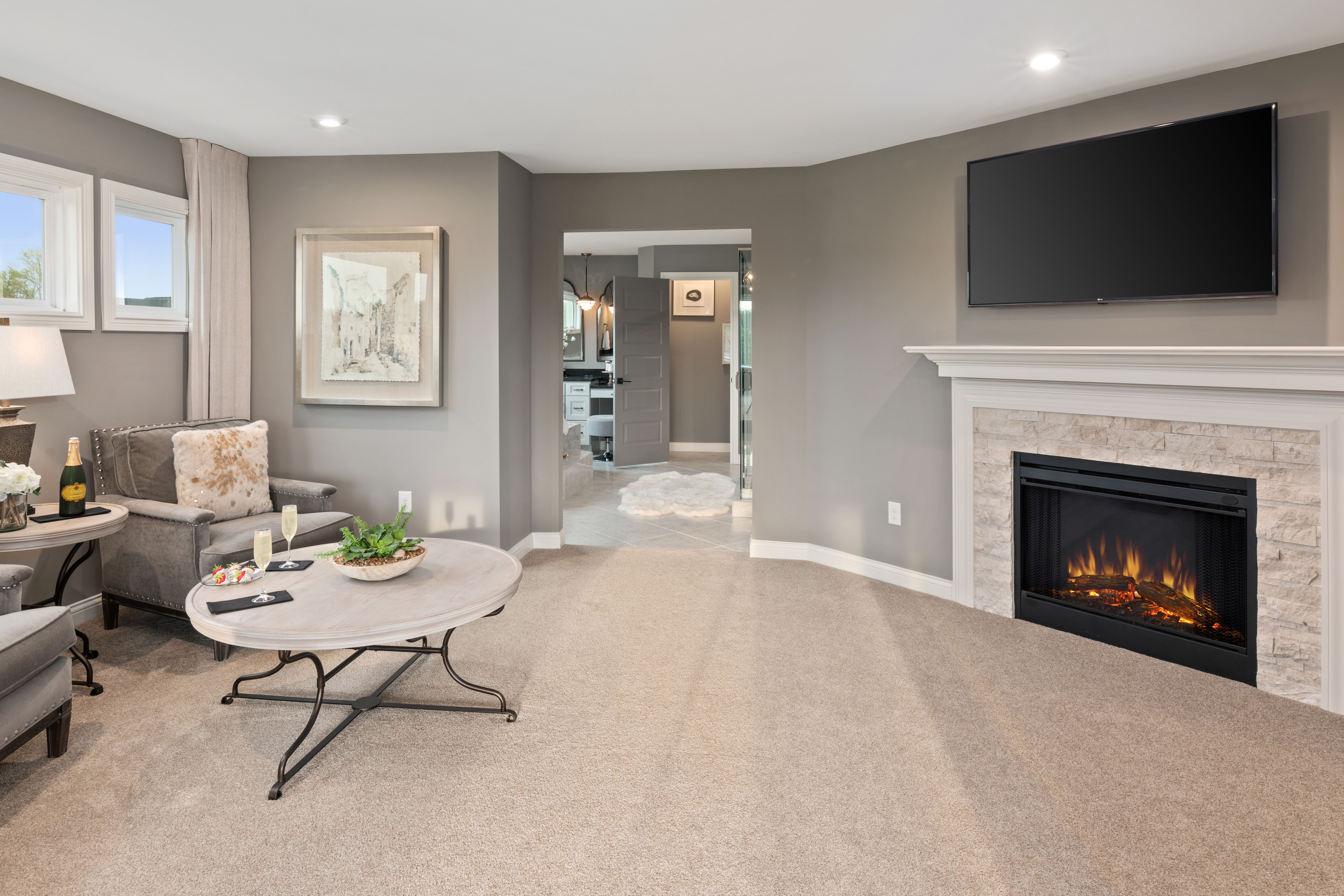 Living Area featured in the Marshall By Fischer Homes  in Columbus, OH