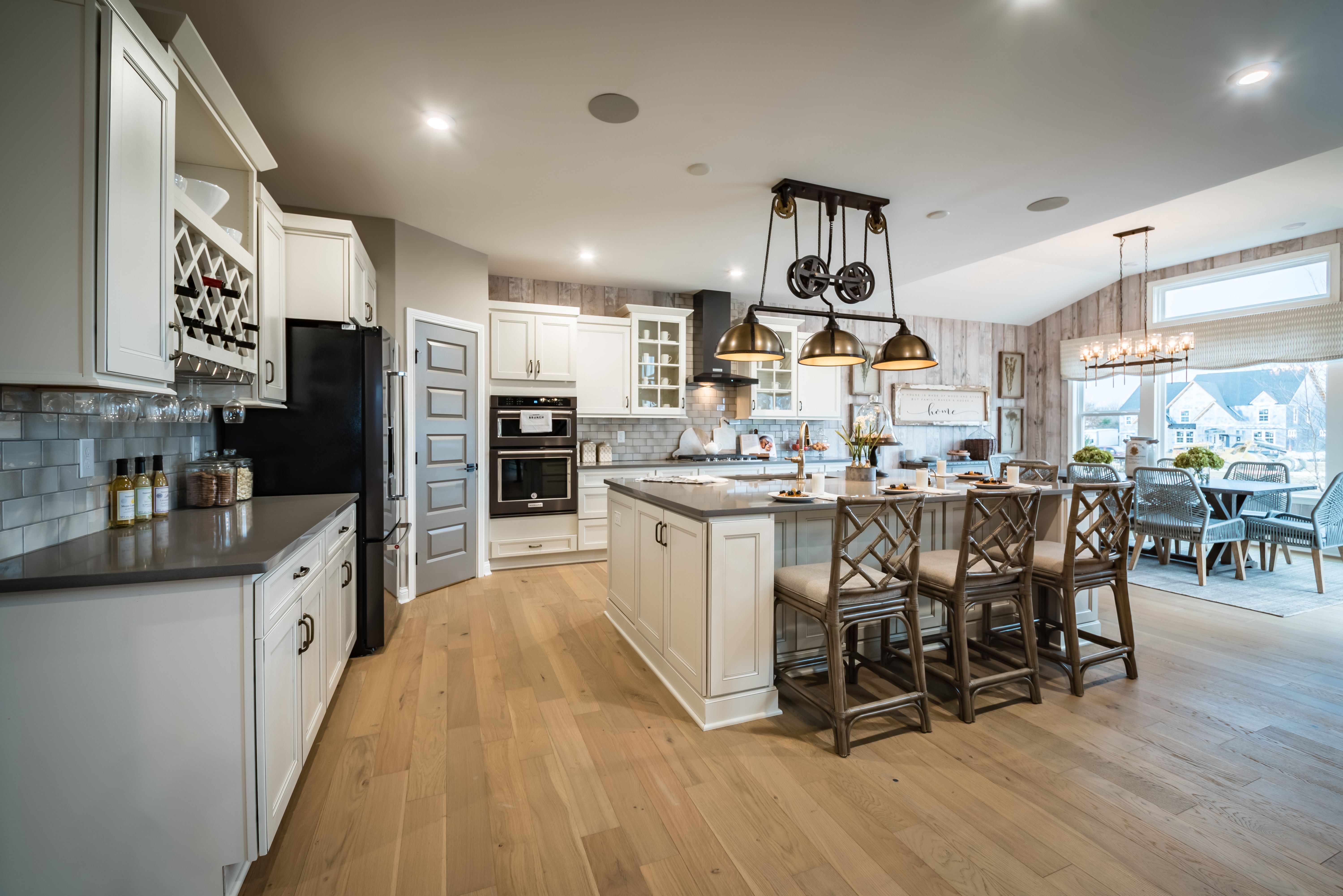 Kitchen featured in the Marshall By Fischer Homes  in Columbus, OH