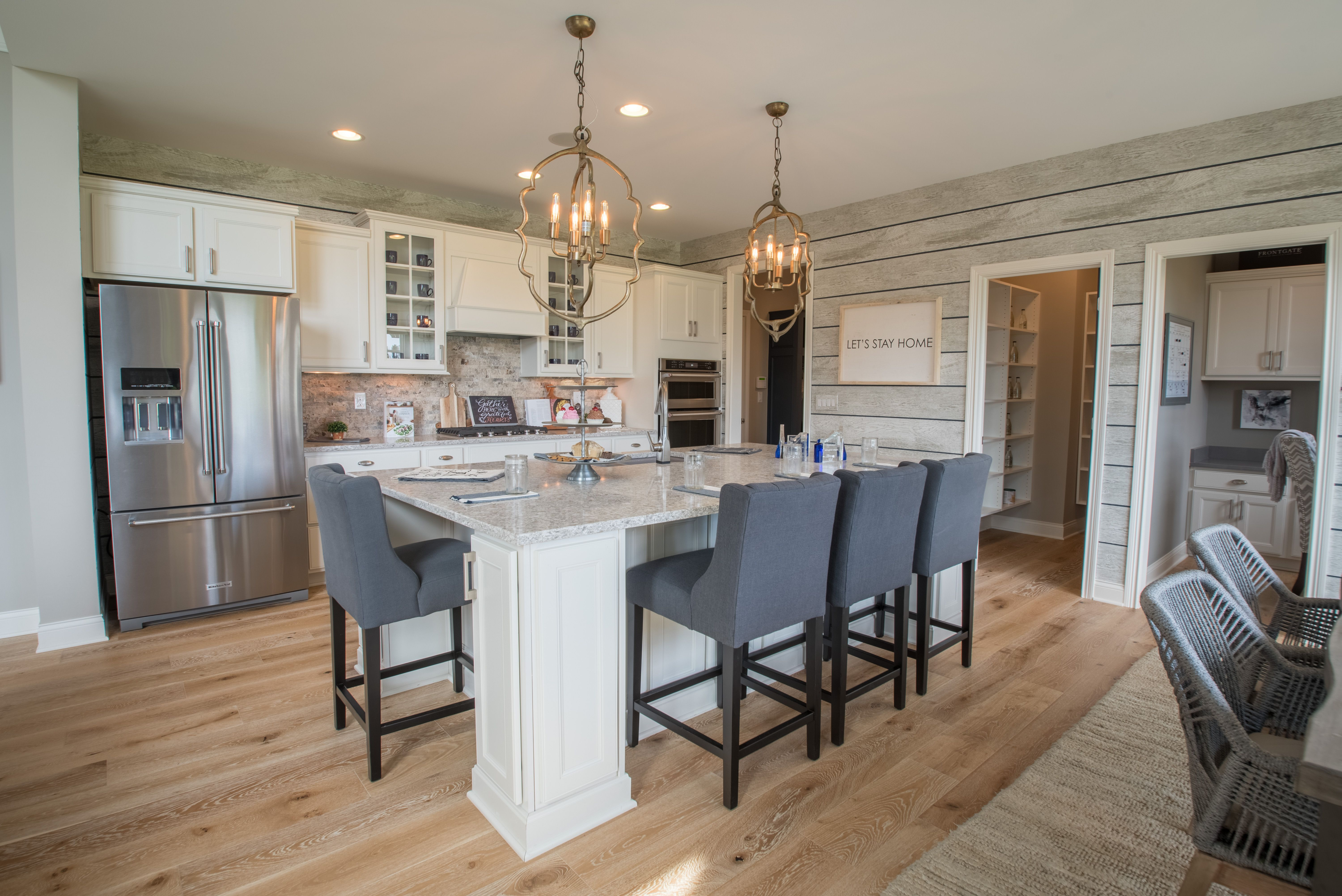 Kitchen featured in the Mitchell By Fischer Homes  in Columbus, OH