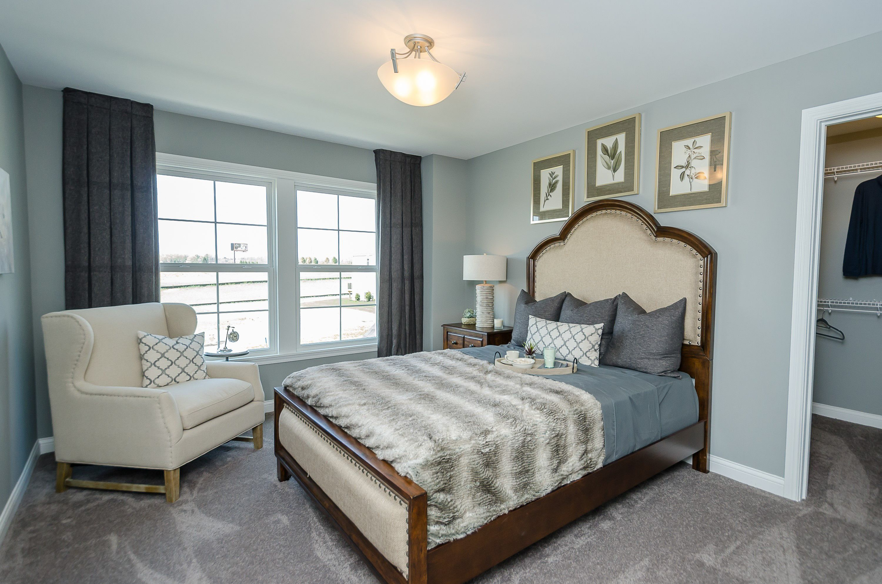 Bedroom featured in the Mitchell By Fischer Homes  in Columbus, OH
