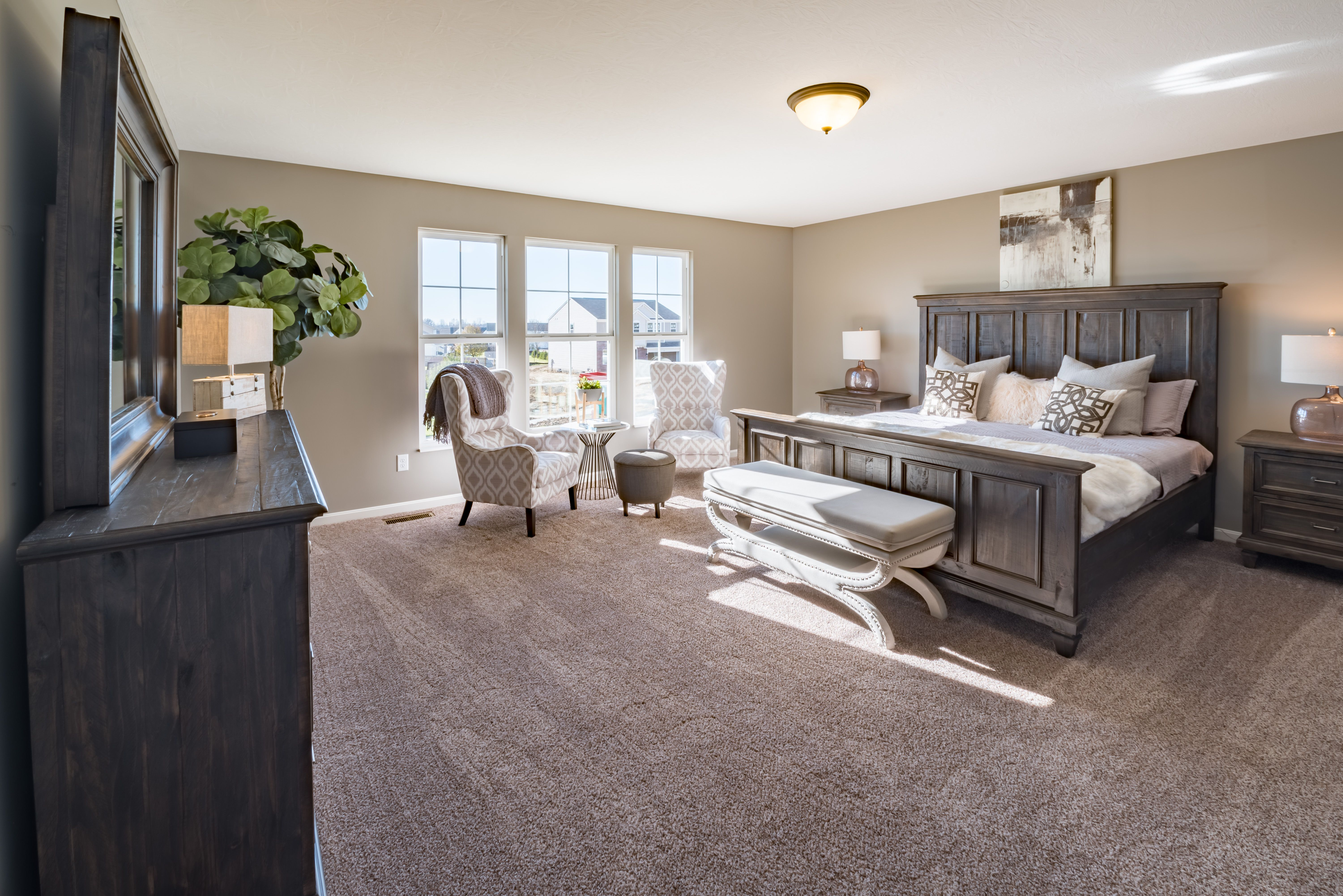 Bedroom featured in the Denali By Fischer Homes  in Louisville, KY