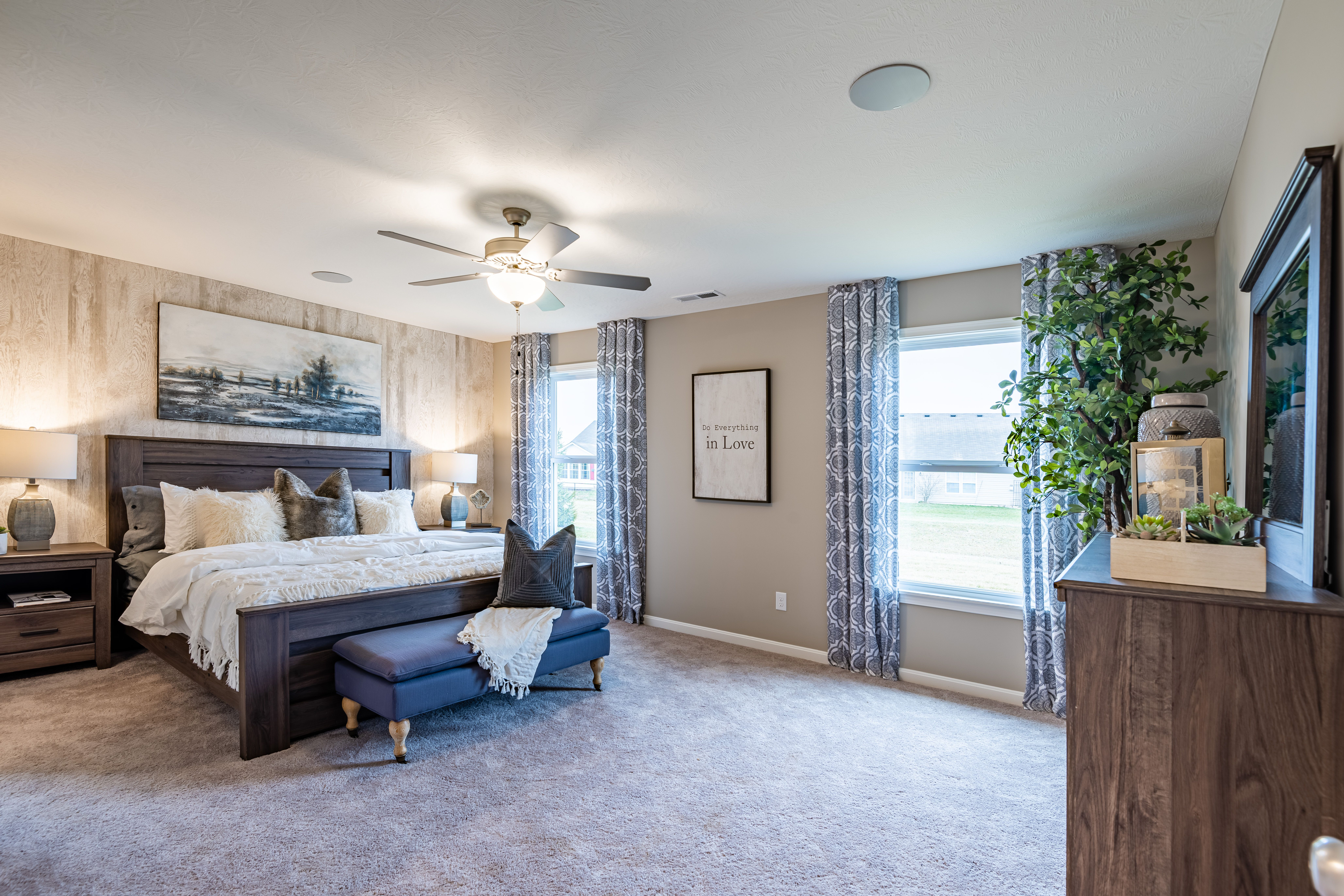 Bedroom featured in the Preston By Fischer Homes  in Dayton-Springfield, OH