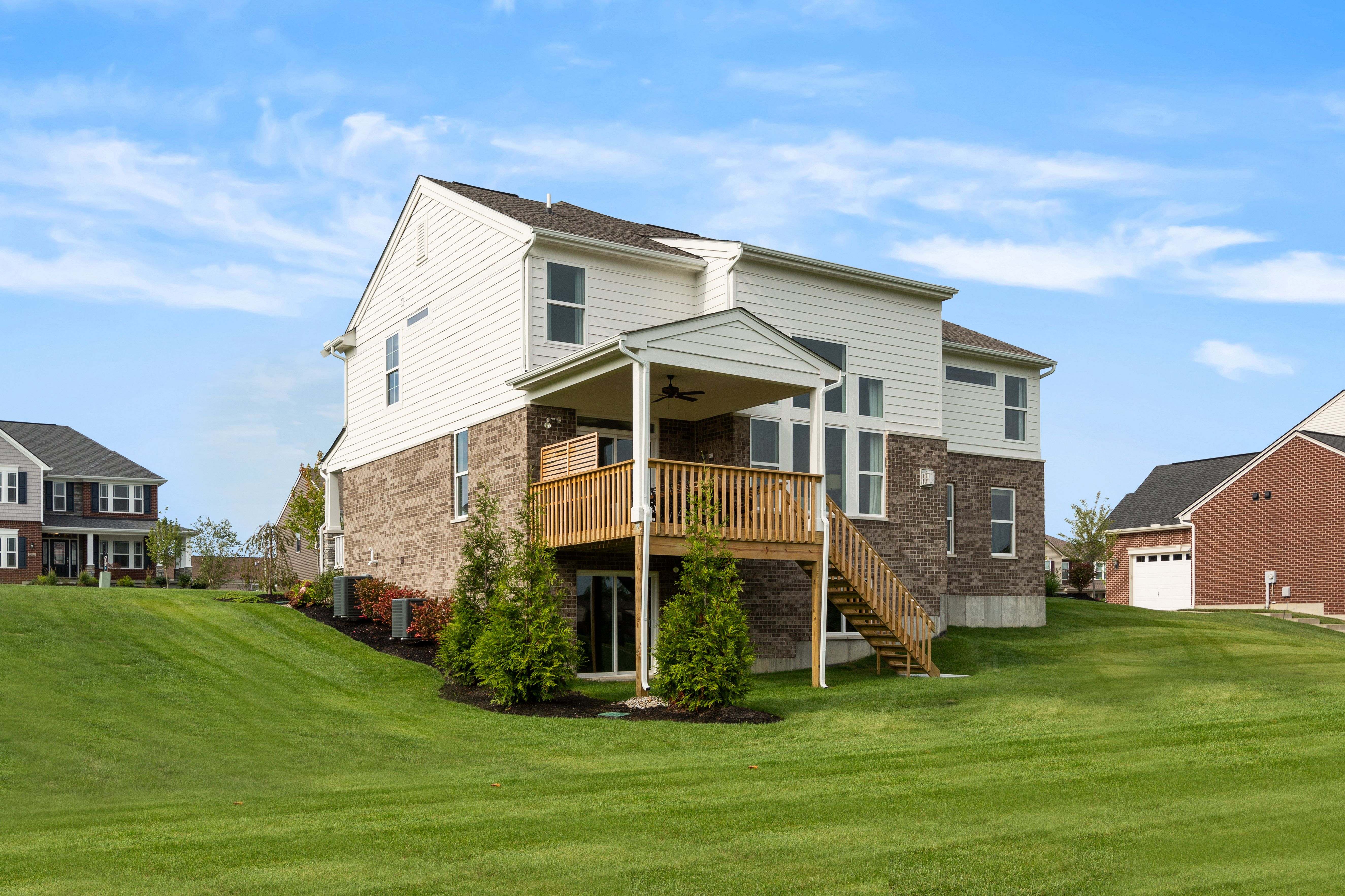 Exterior featured in the Avery By Fischer Homes  in Cincinnati, OH