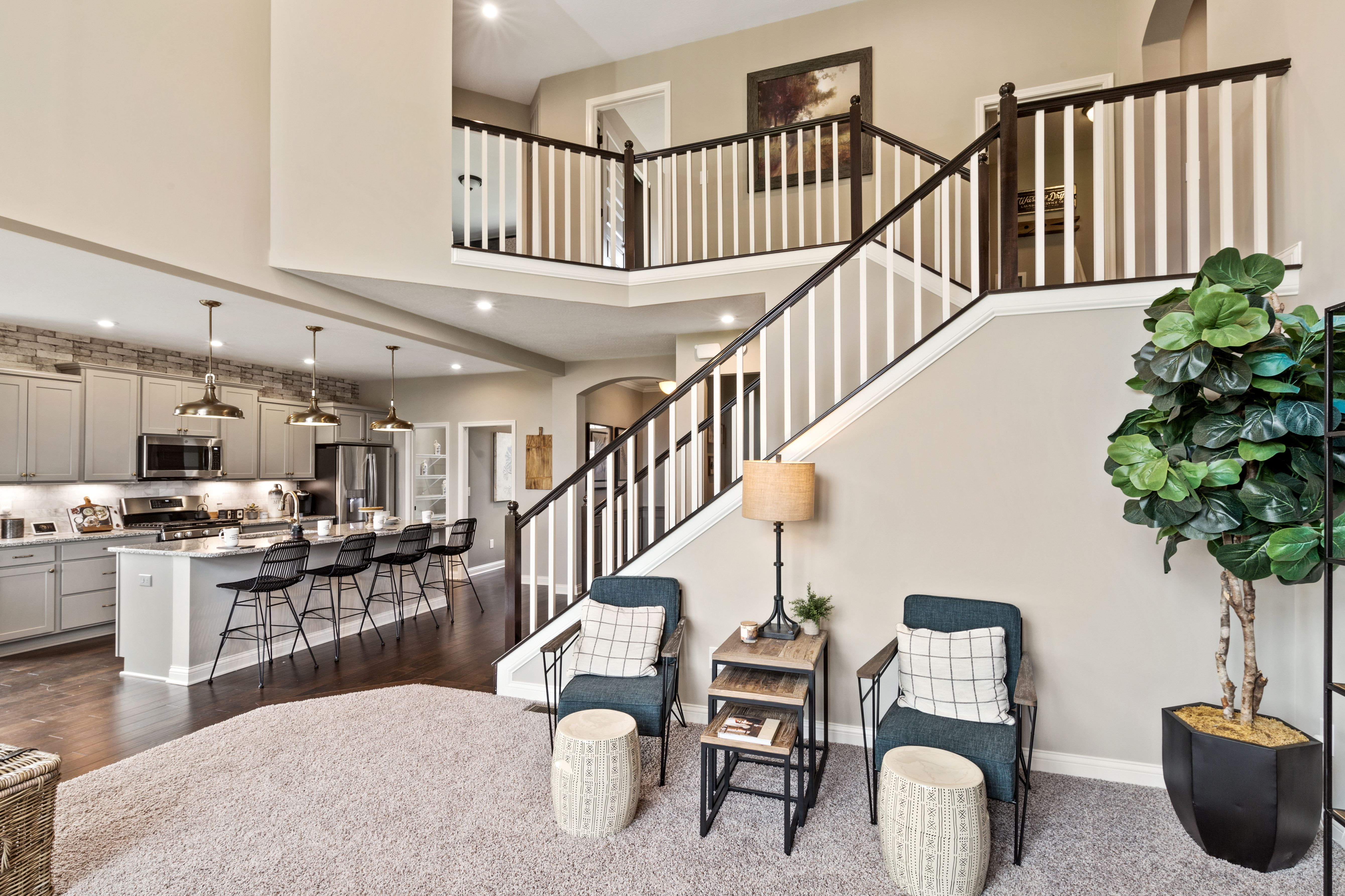 Living Area featured in the Avery By Fischer Homes  in Cincinnati, OH