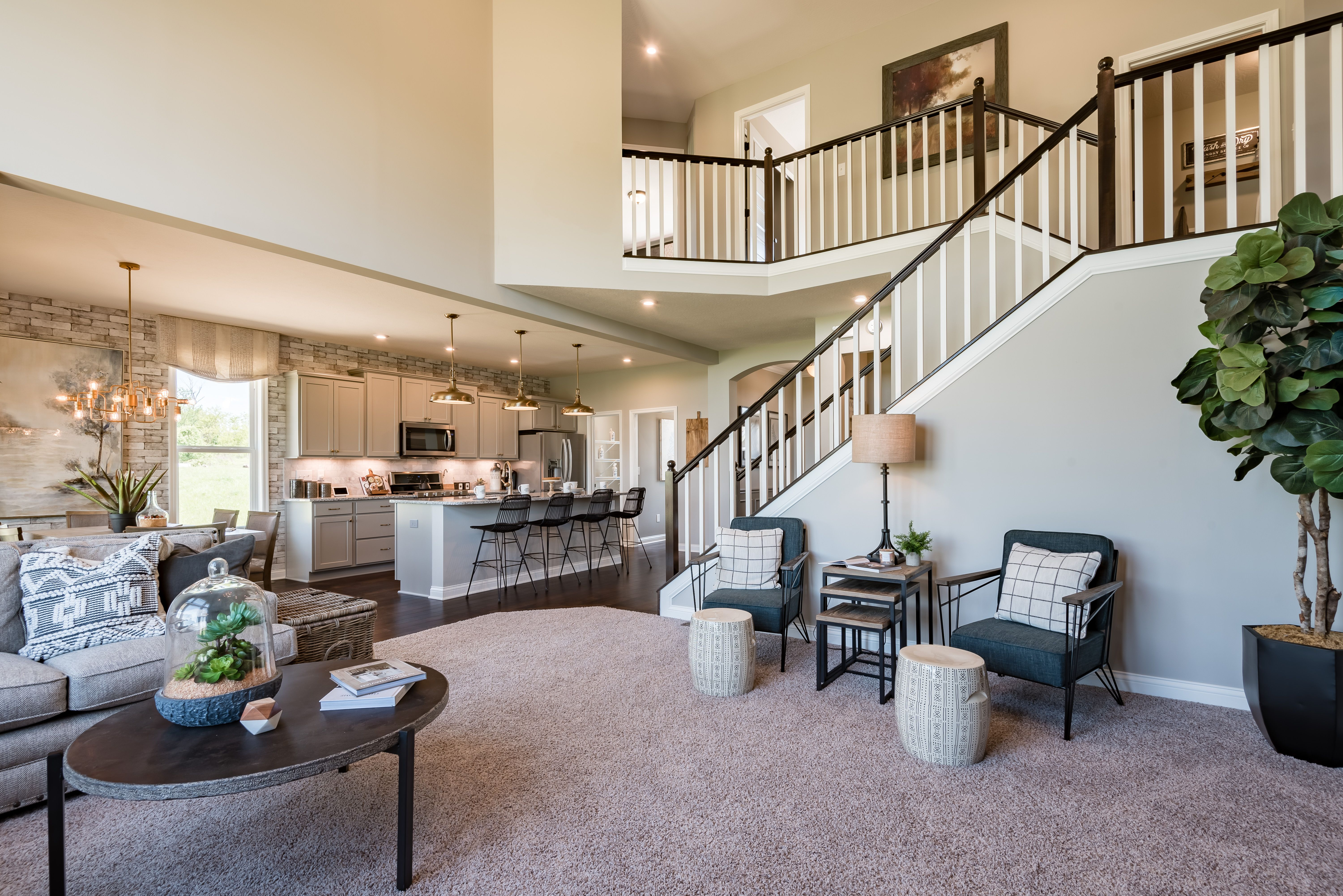 Living Area featured in the Avery By Fischer Homes  in Louisville, KY