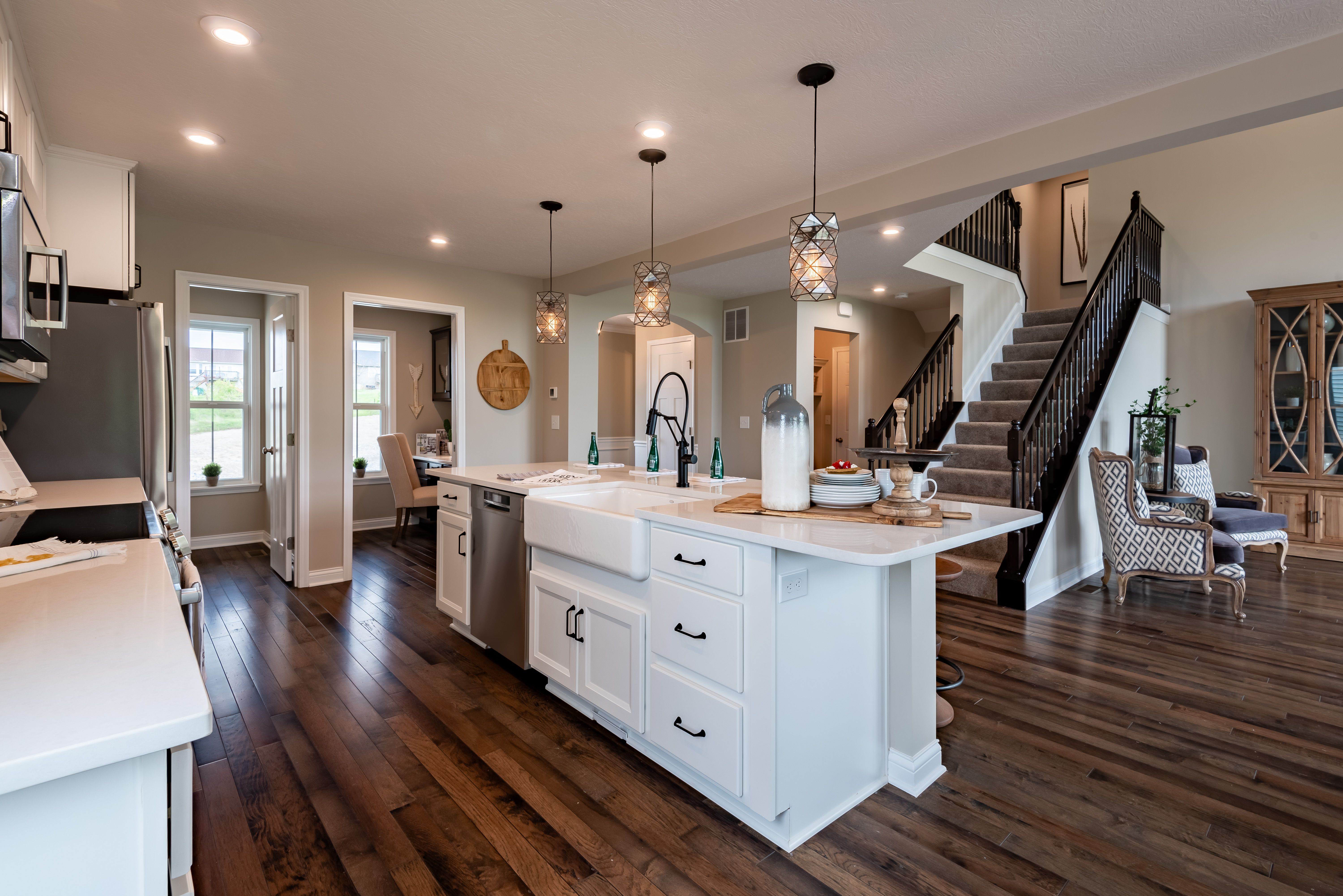 Kitchen featured in the Avery By Fischer Homes  in Louisville, KY