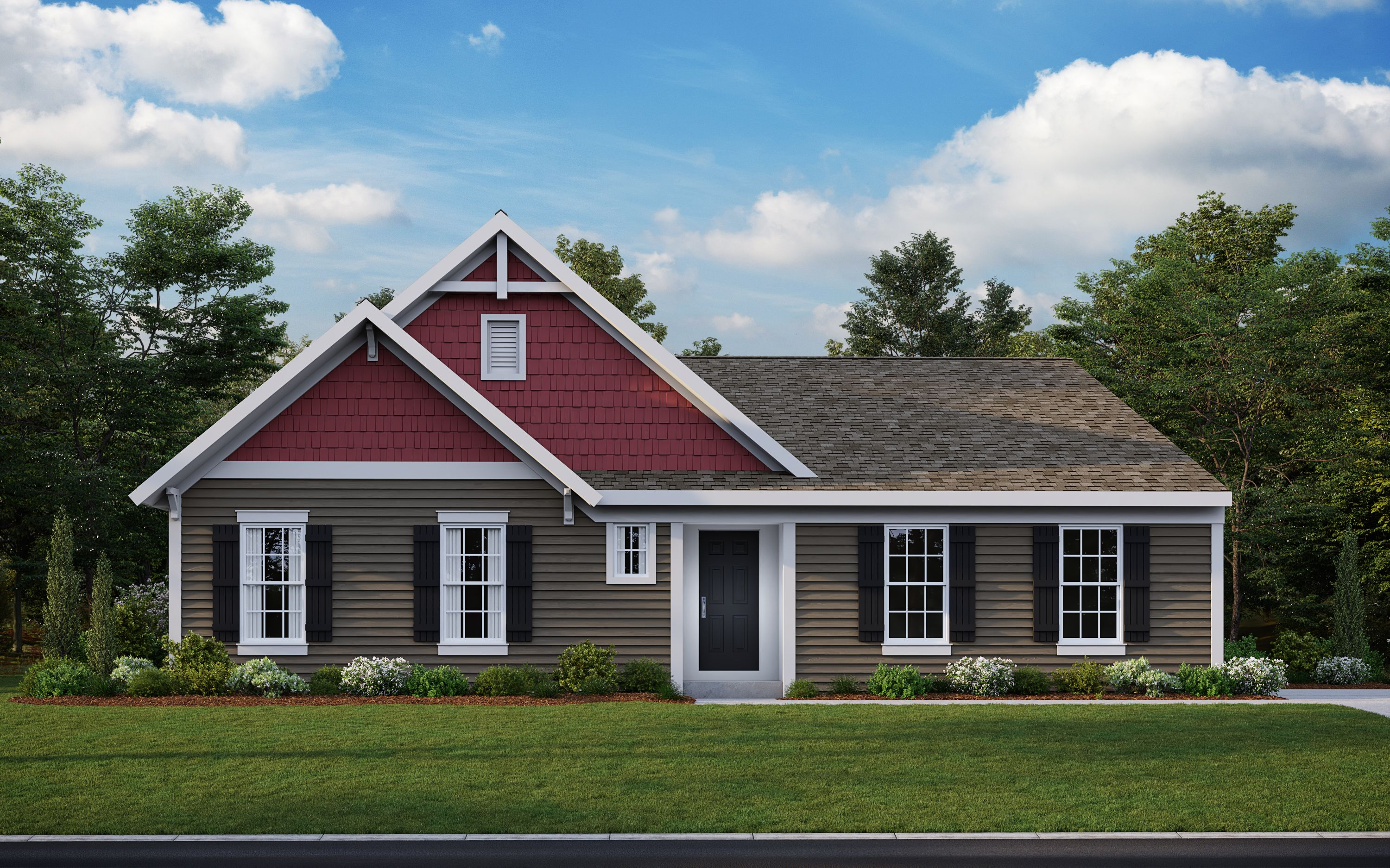 Exterior featured in the Calvin By Fischer Homes  in Louisville, KY