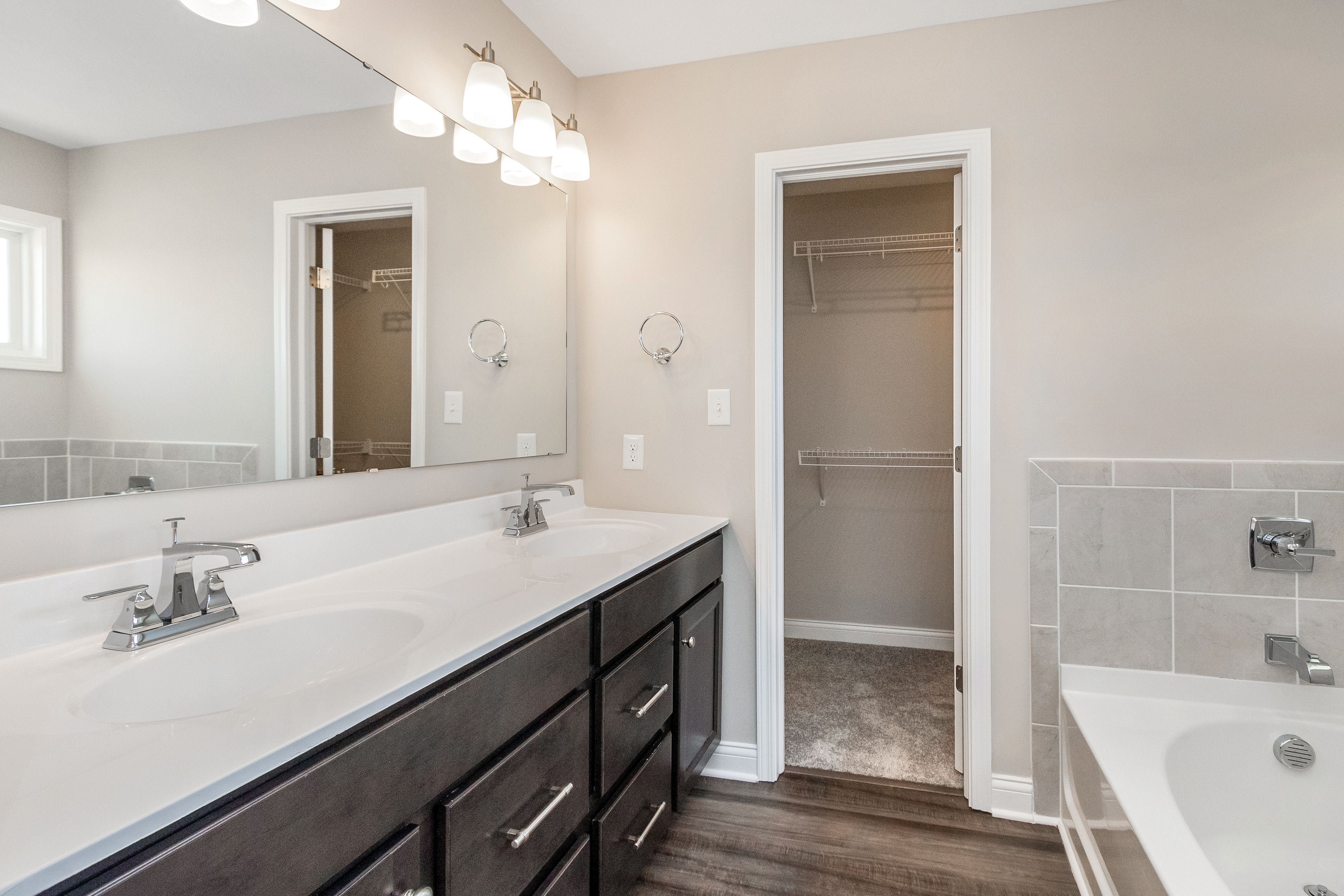 Bathroom featured in the Delaney By Fischer Homes  in Louisville, KY