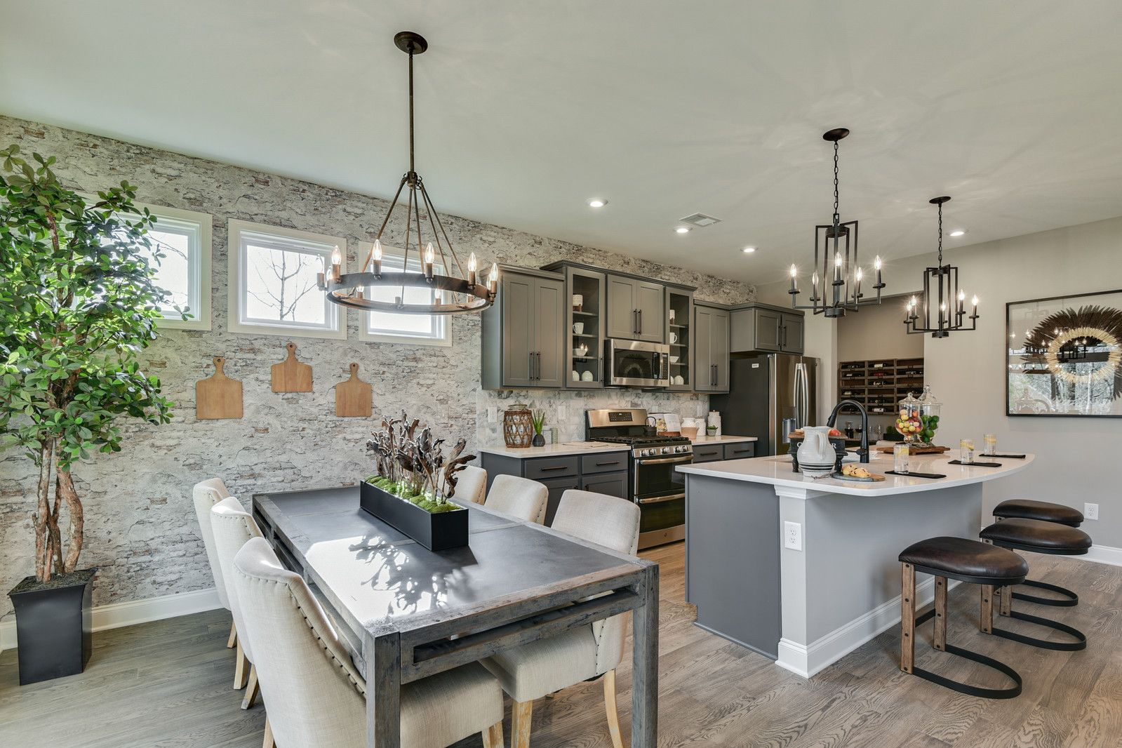 Kitchen featured in the Charles By Fischer Homes  in Louisville, KY