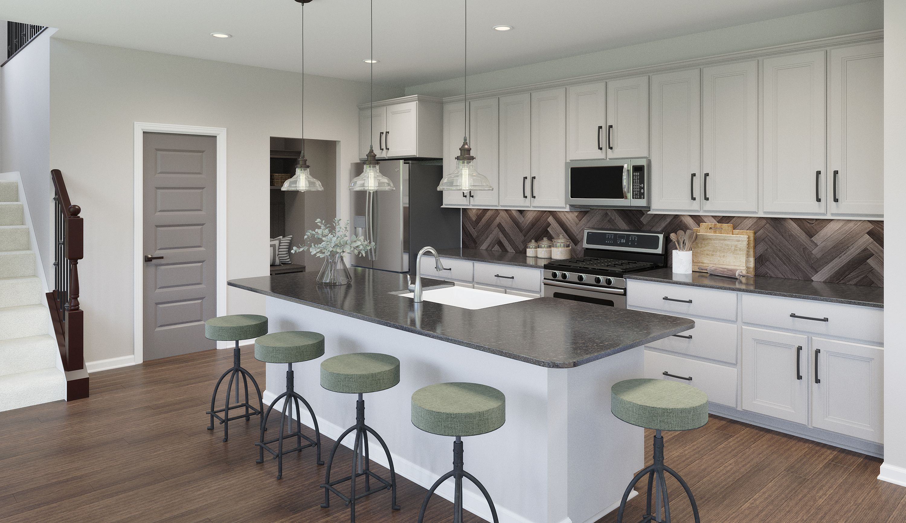 Kitchen featured in the Miles By Fischer Homes  in Louisville, KY