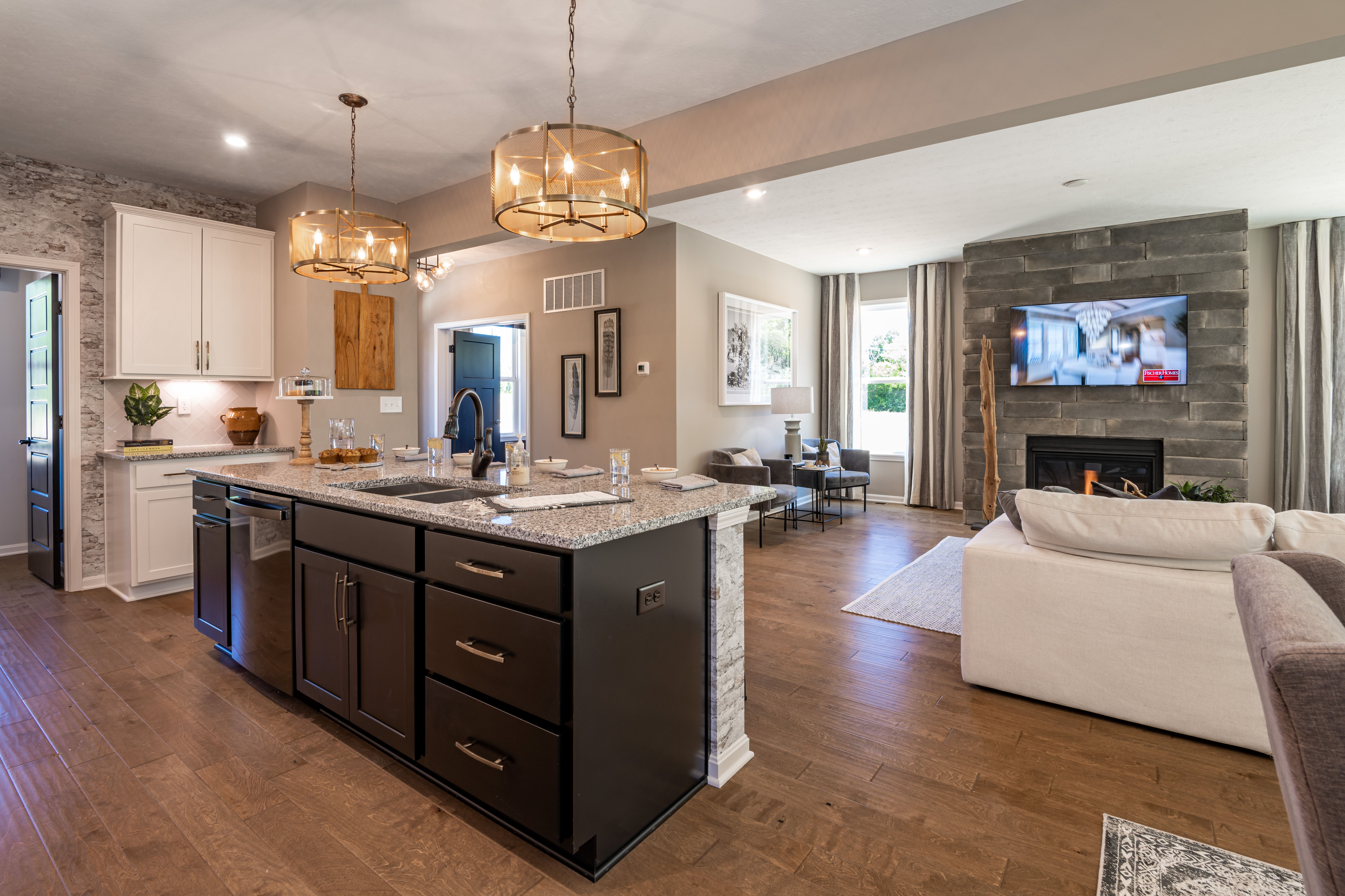 Living Area featured in the Wyatt By Fischer Homes  in Louisville, KY