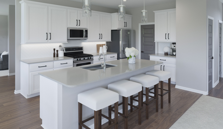 Kitchen featured in the Wyatt By Fischer Homes  in Dayton-Springfield, OH