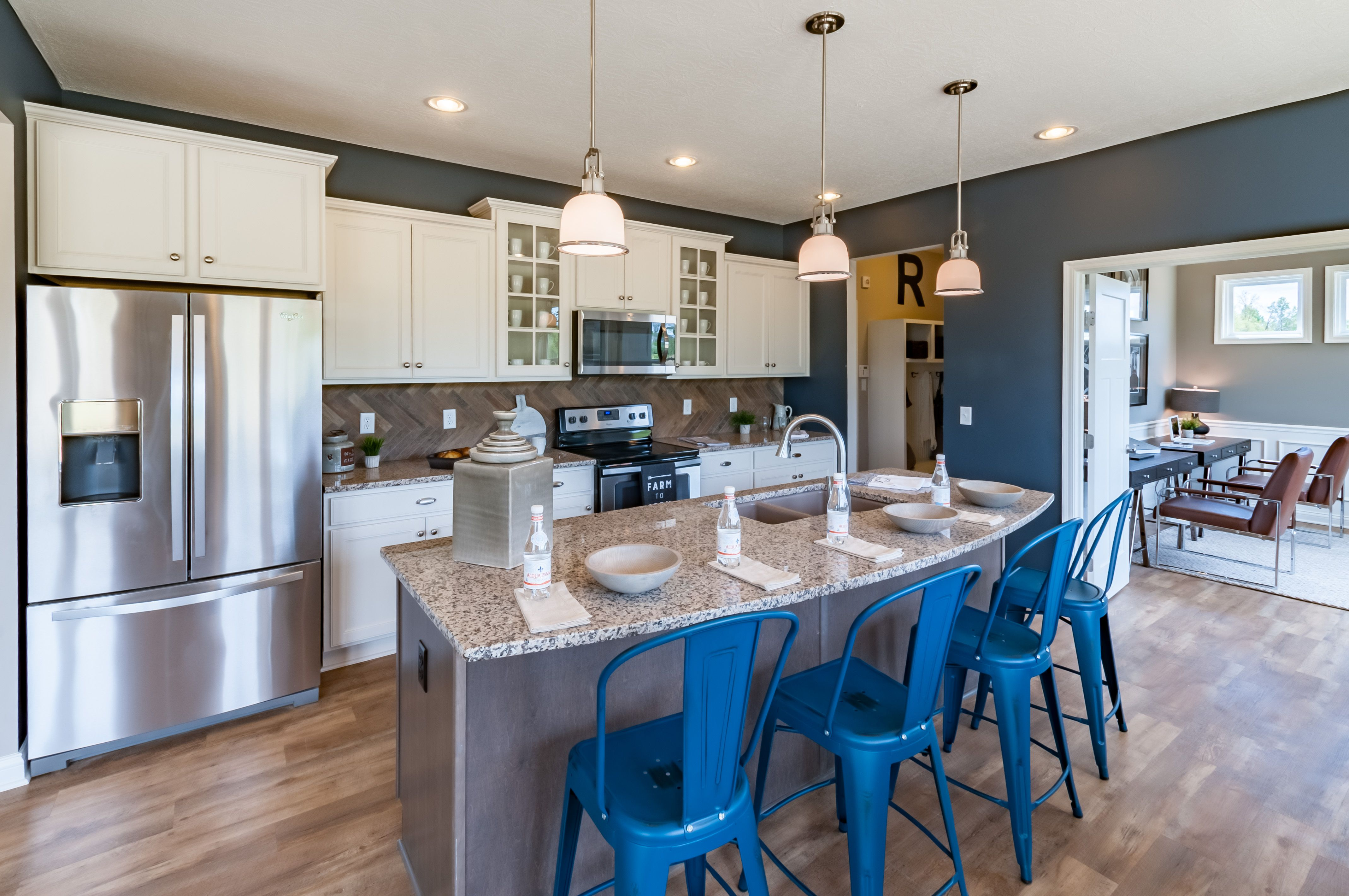 Kitchen featured in the Quinn By Fischer Homes  in Columbus, OH