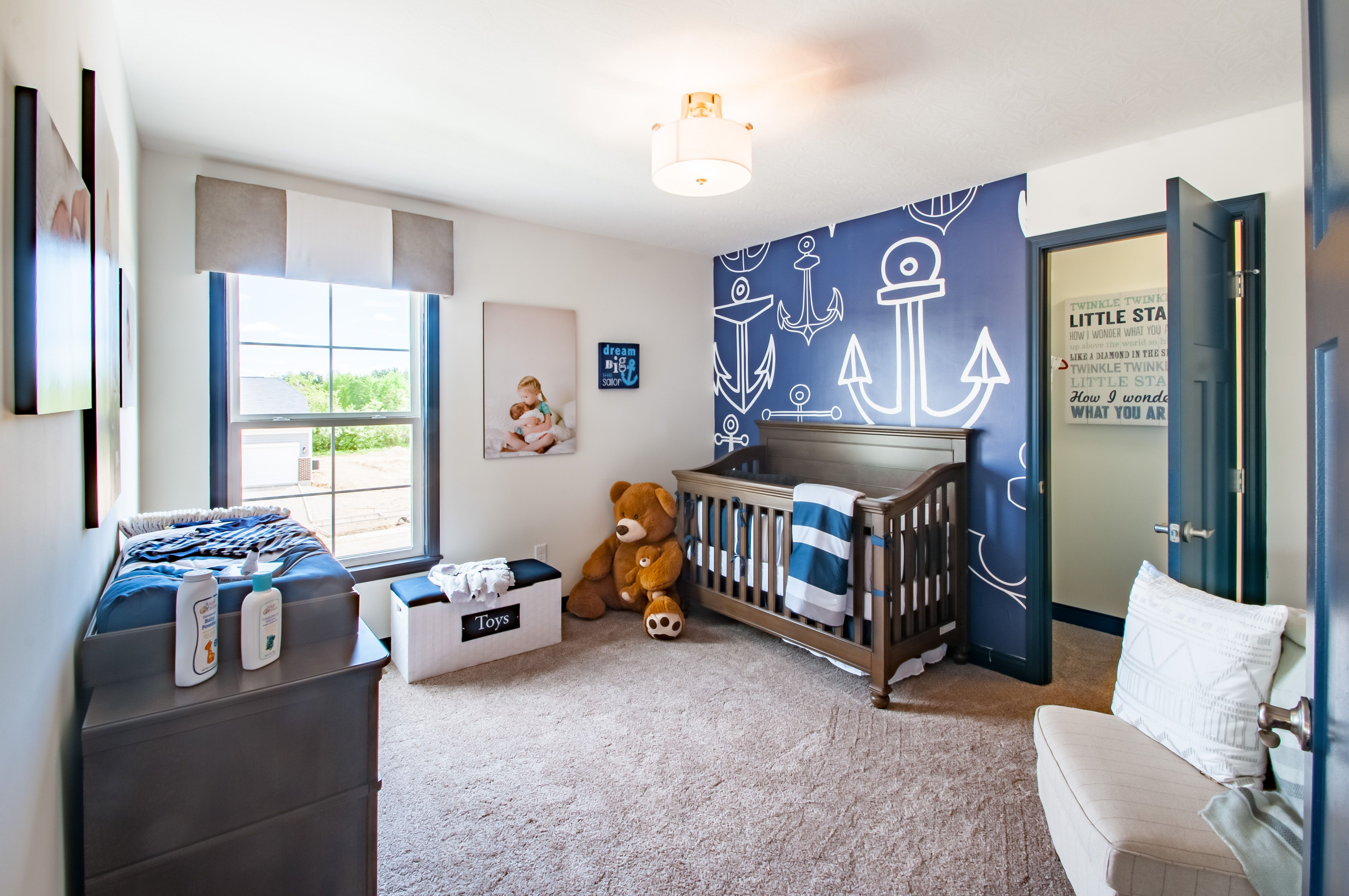 Bedroom featured in the Quinn By Fischer Homes  in Columbus, OH