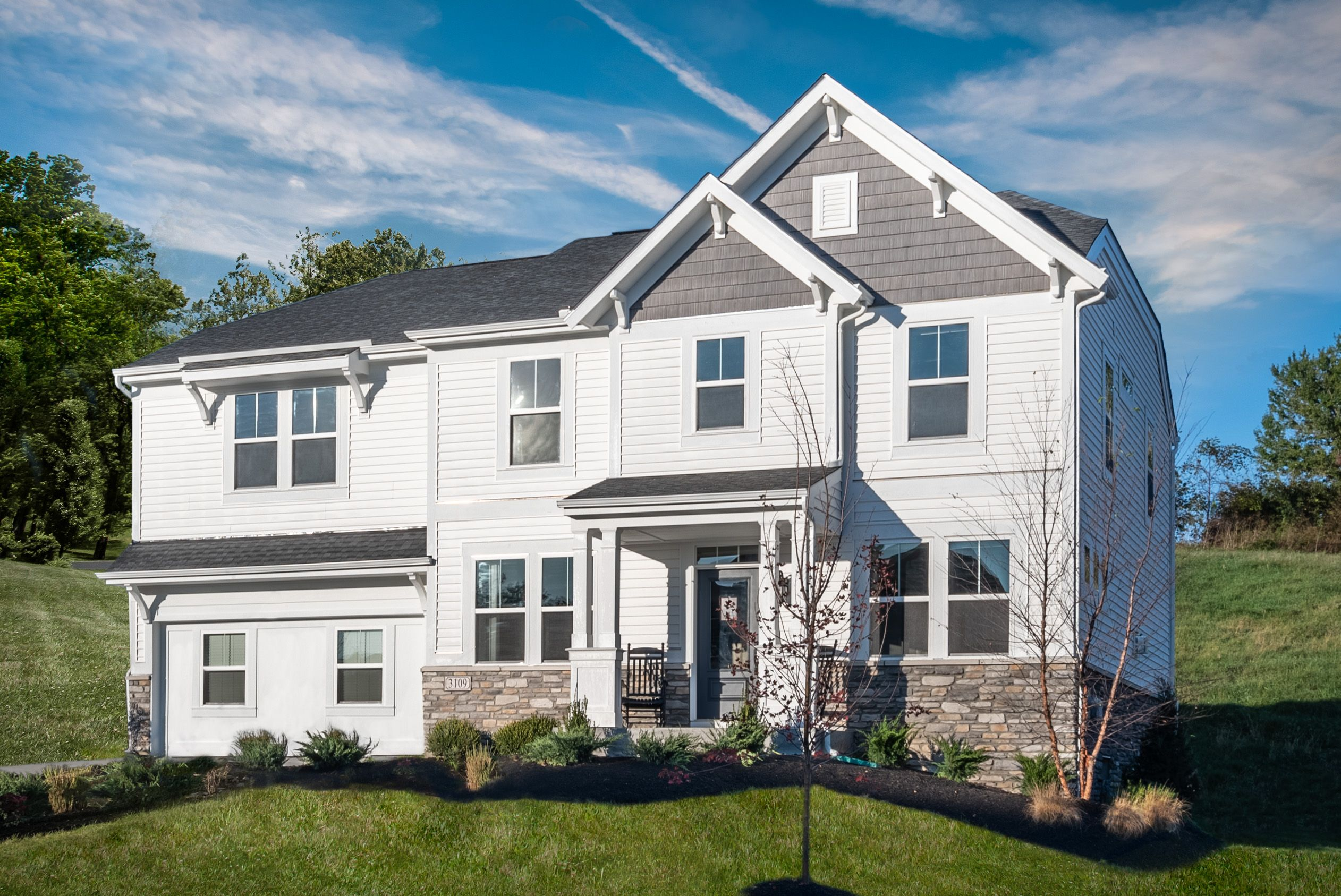 Exterior featured in the Foster By Fischer Homes  in Louisville, KY