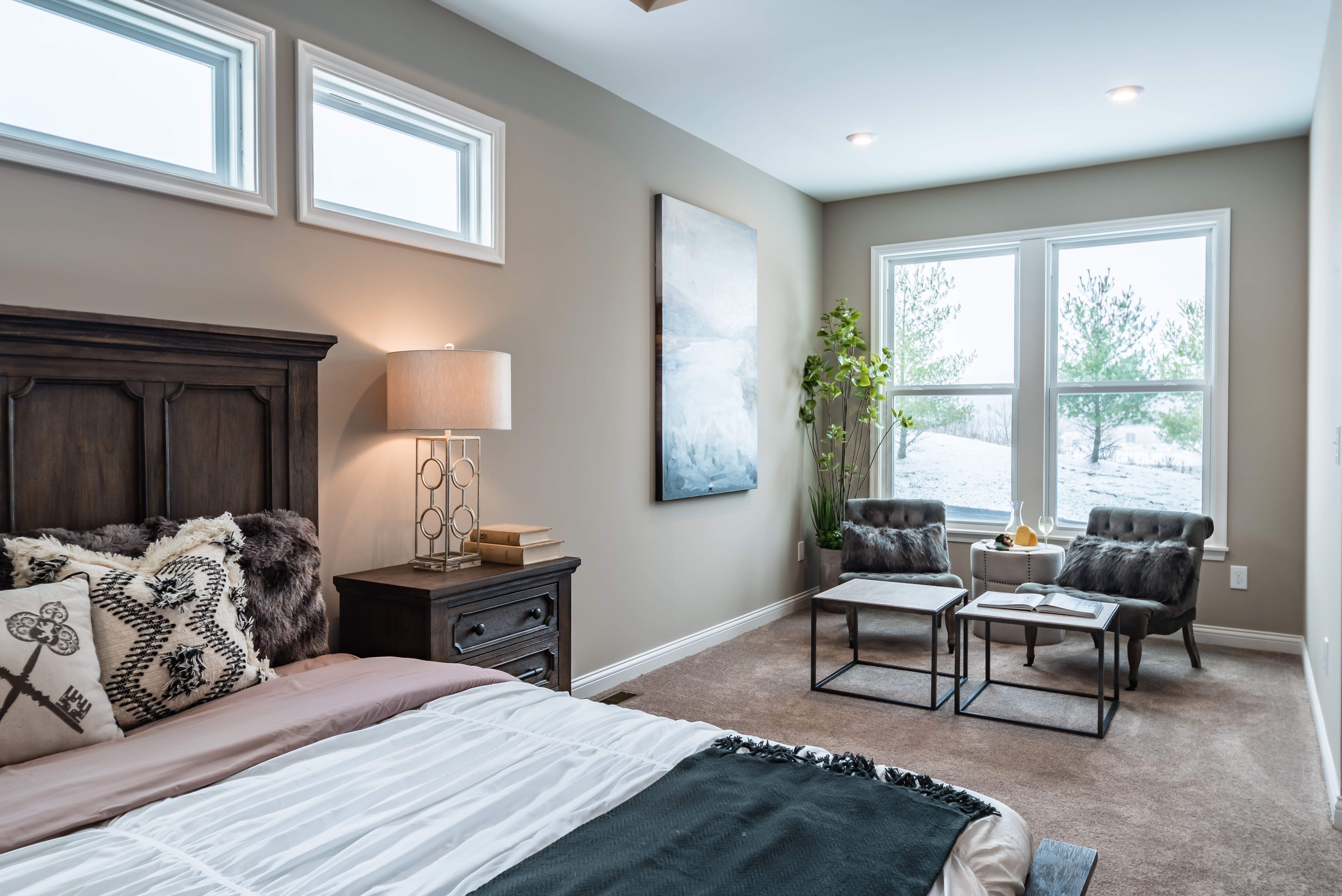 Bedroom featured in the Blair By Fischer Homes  in Columbus, OH