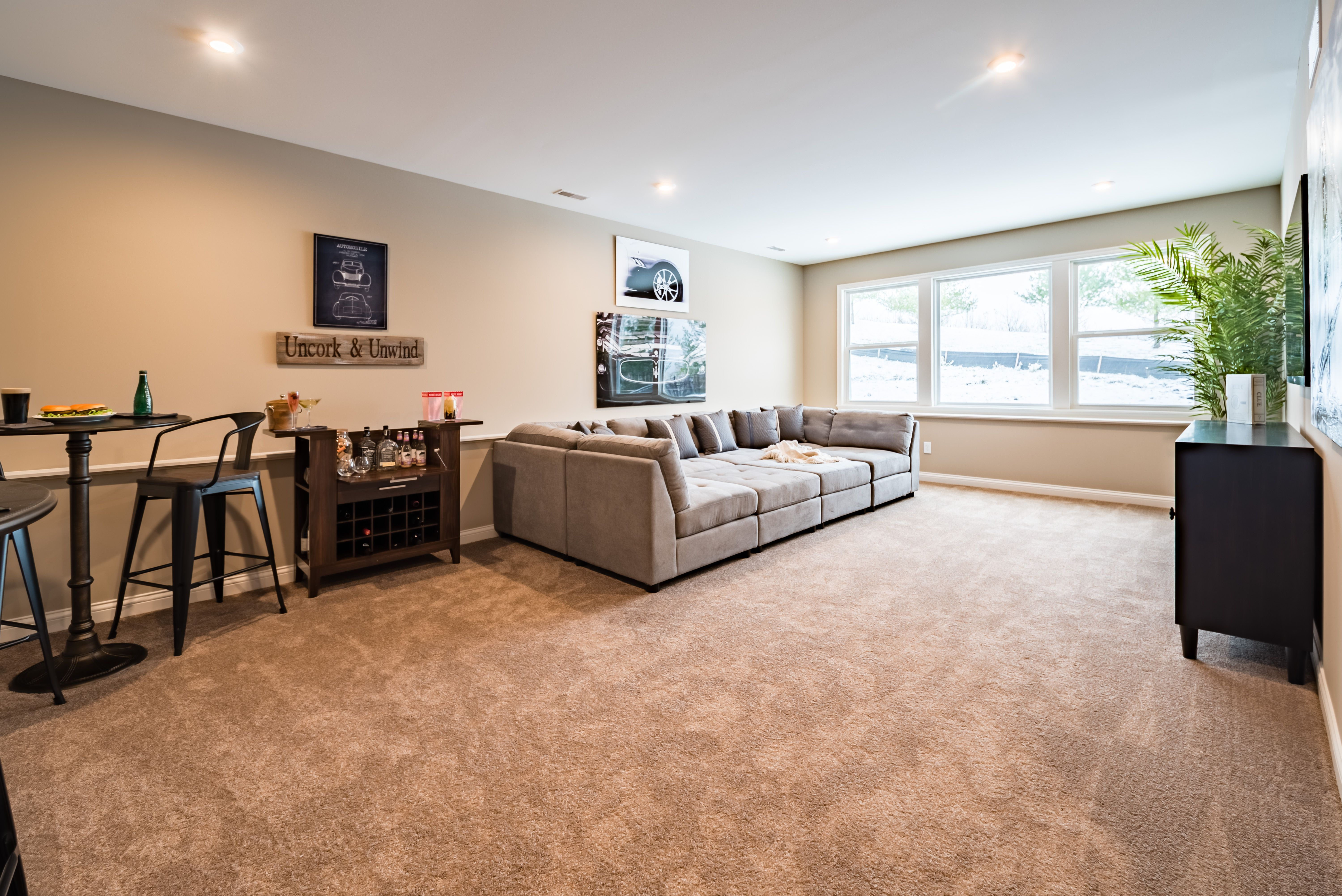 Living Area featured in the Blair By Fischer Homes  in Louisville, KY