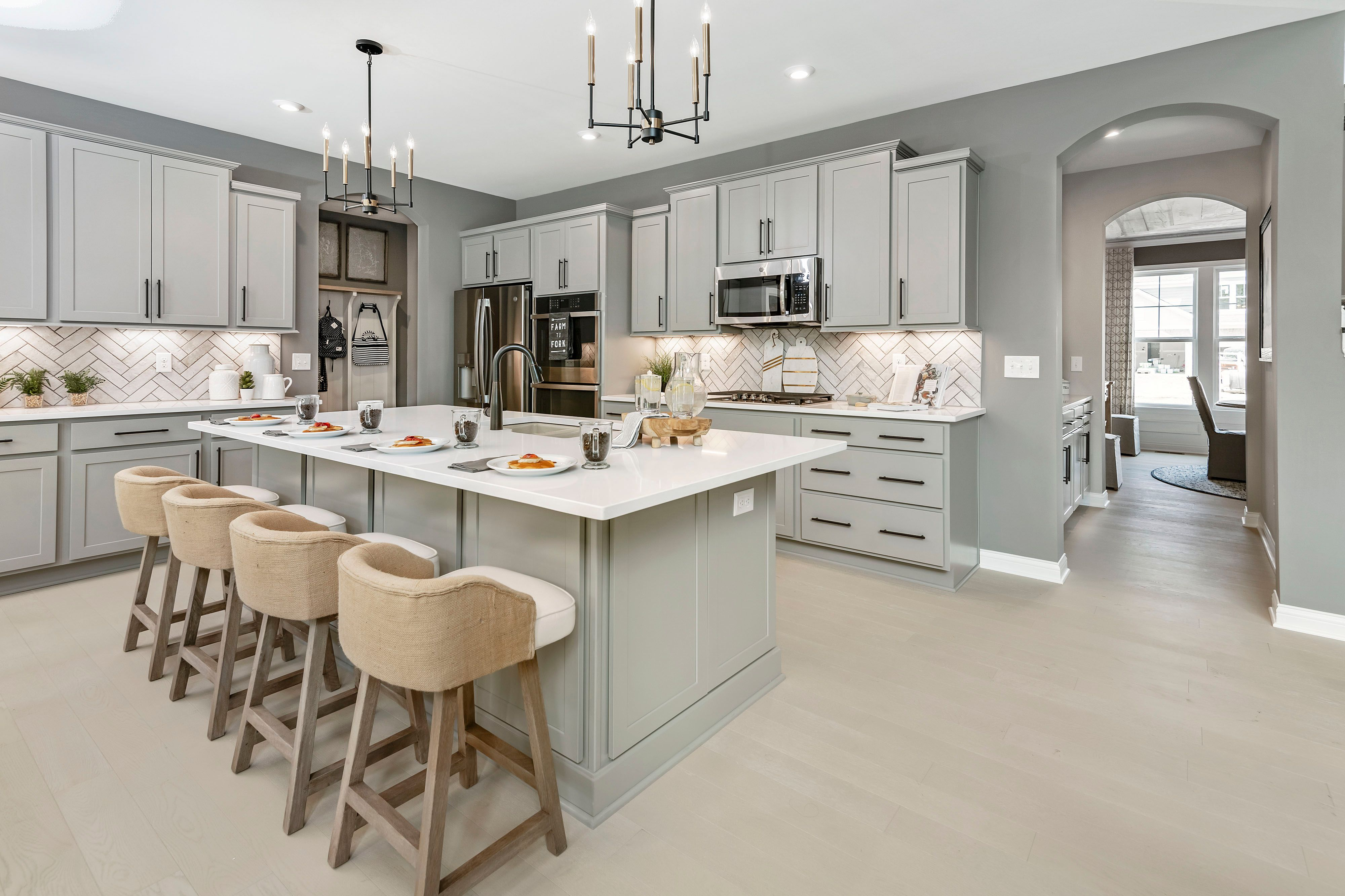 Kitchen featured in the Leland By Fischer Homes  in Columbus, OH