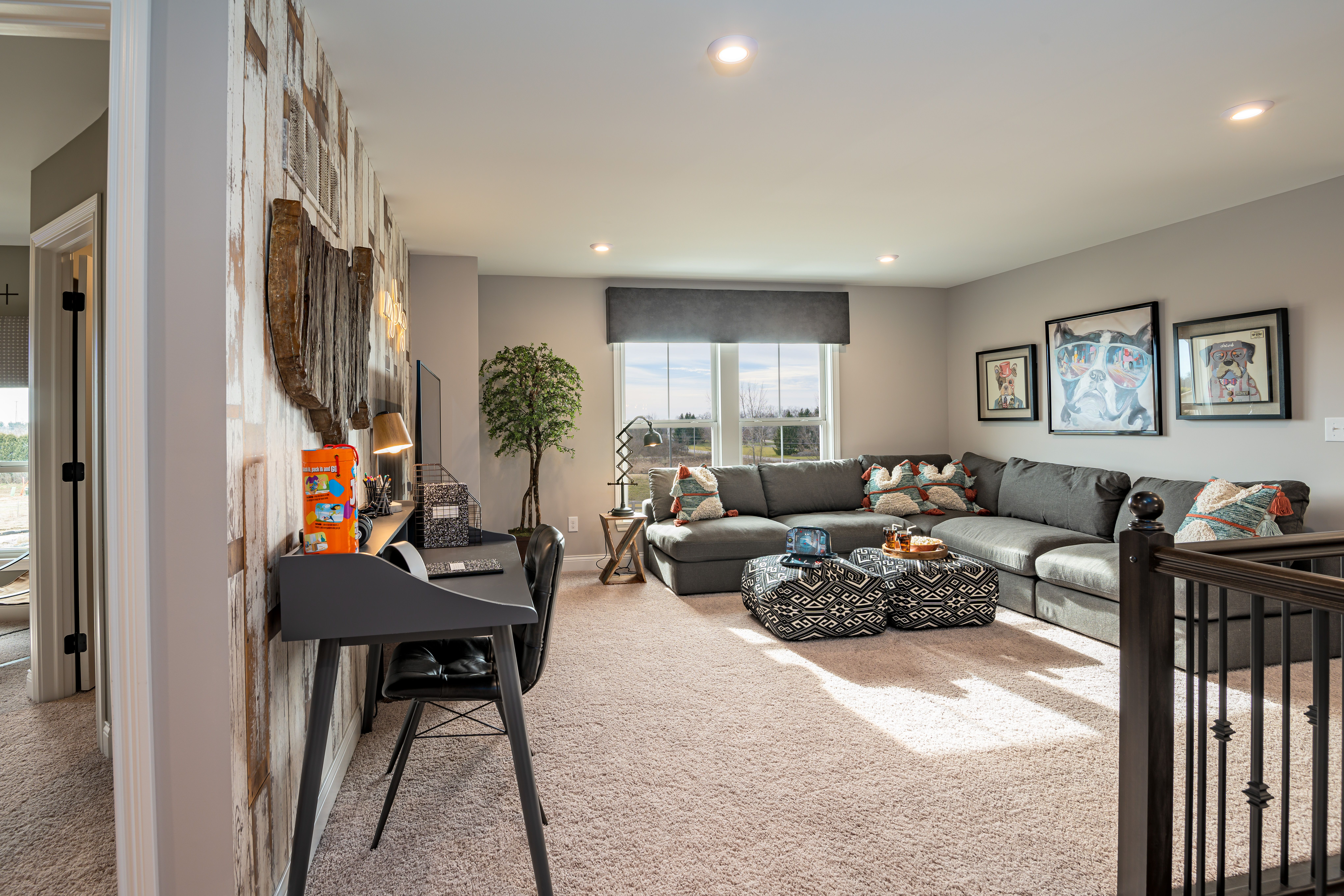 Living Area featured in the Leland By Fischer Homes  in Columbus, OH