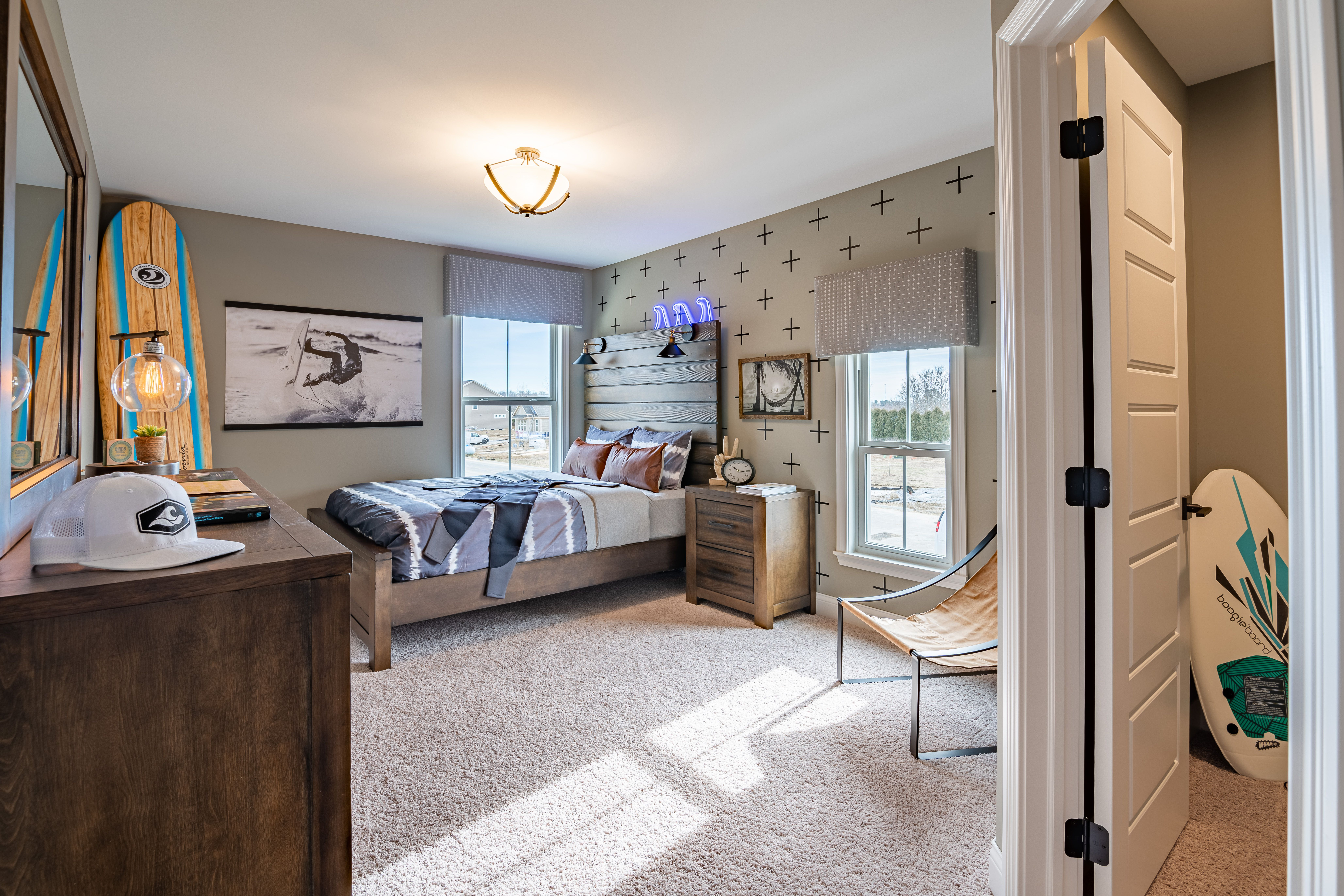 Bedroom featured in the Leland By Fischer Homes  in Columbus, OH