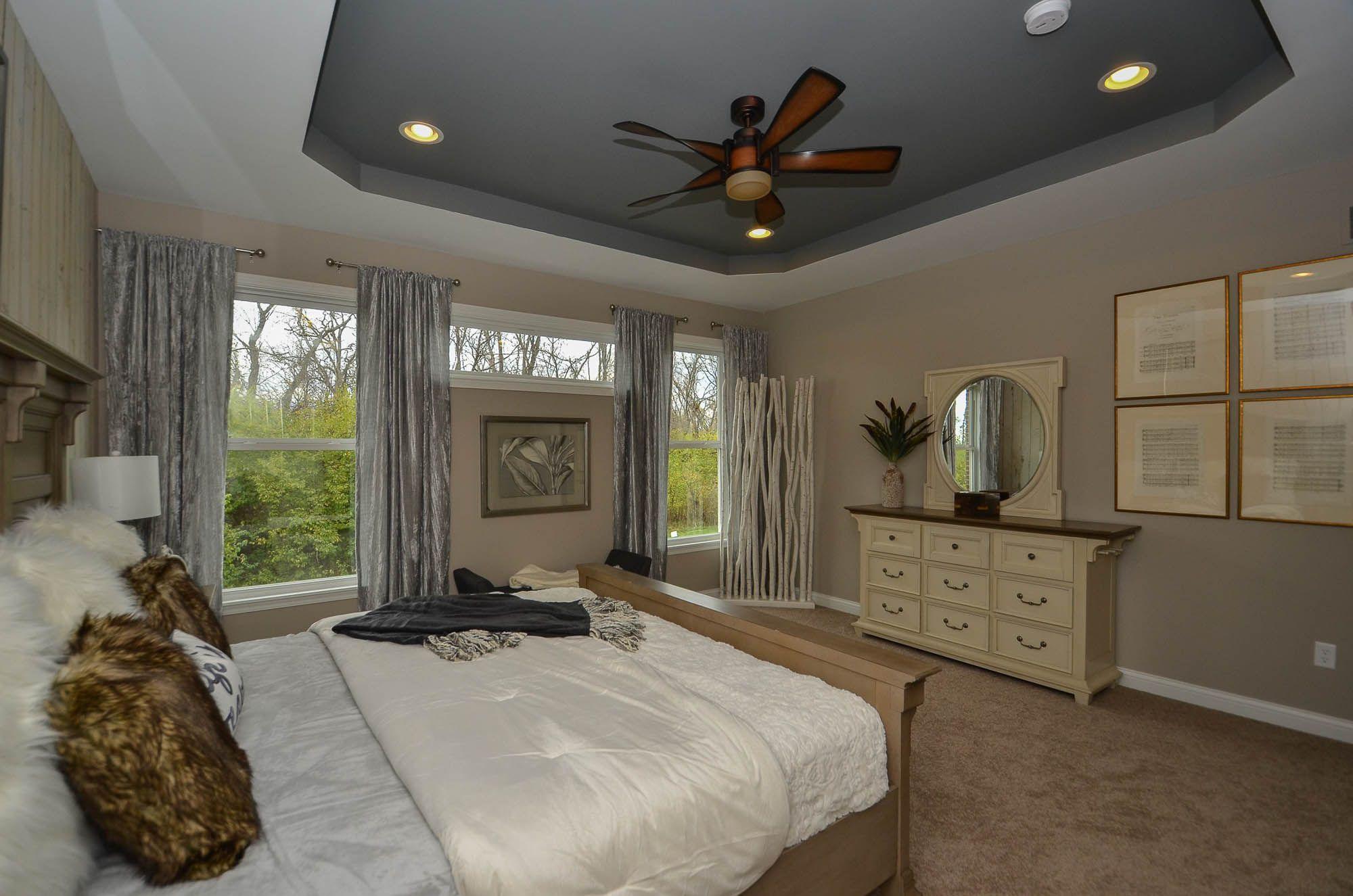 Bedroom featured in the Bayberry By Fischer Homes  in Cincinnati, OH