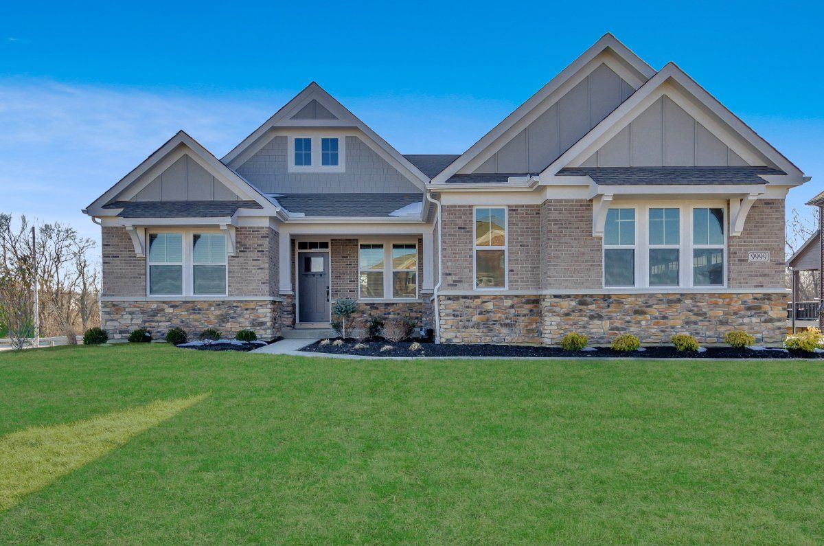 Exterior featured in the Everett By Fischer Homes  in Columbus, OH