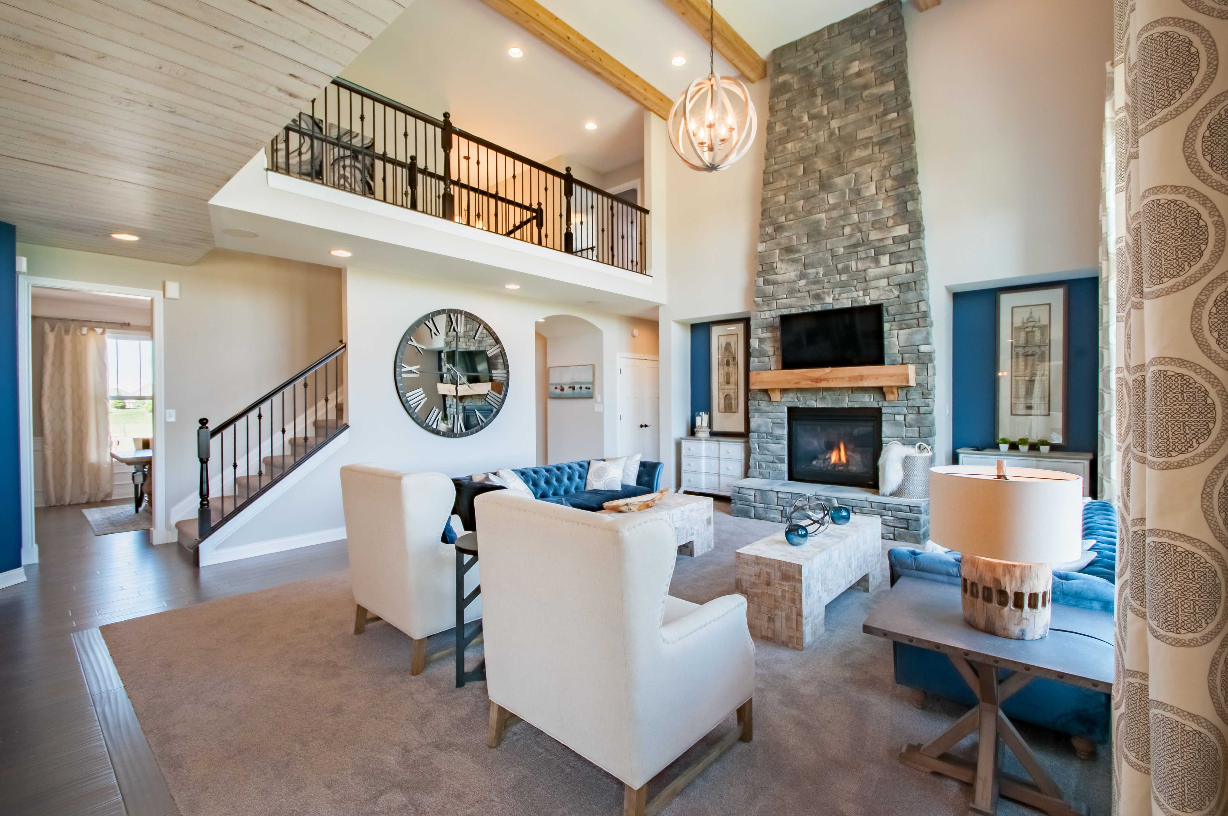 Living Area featured in the Stanton By Fischer Homes  in Cincinnati, KY