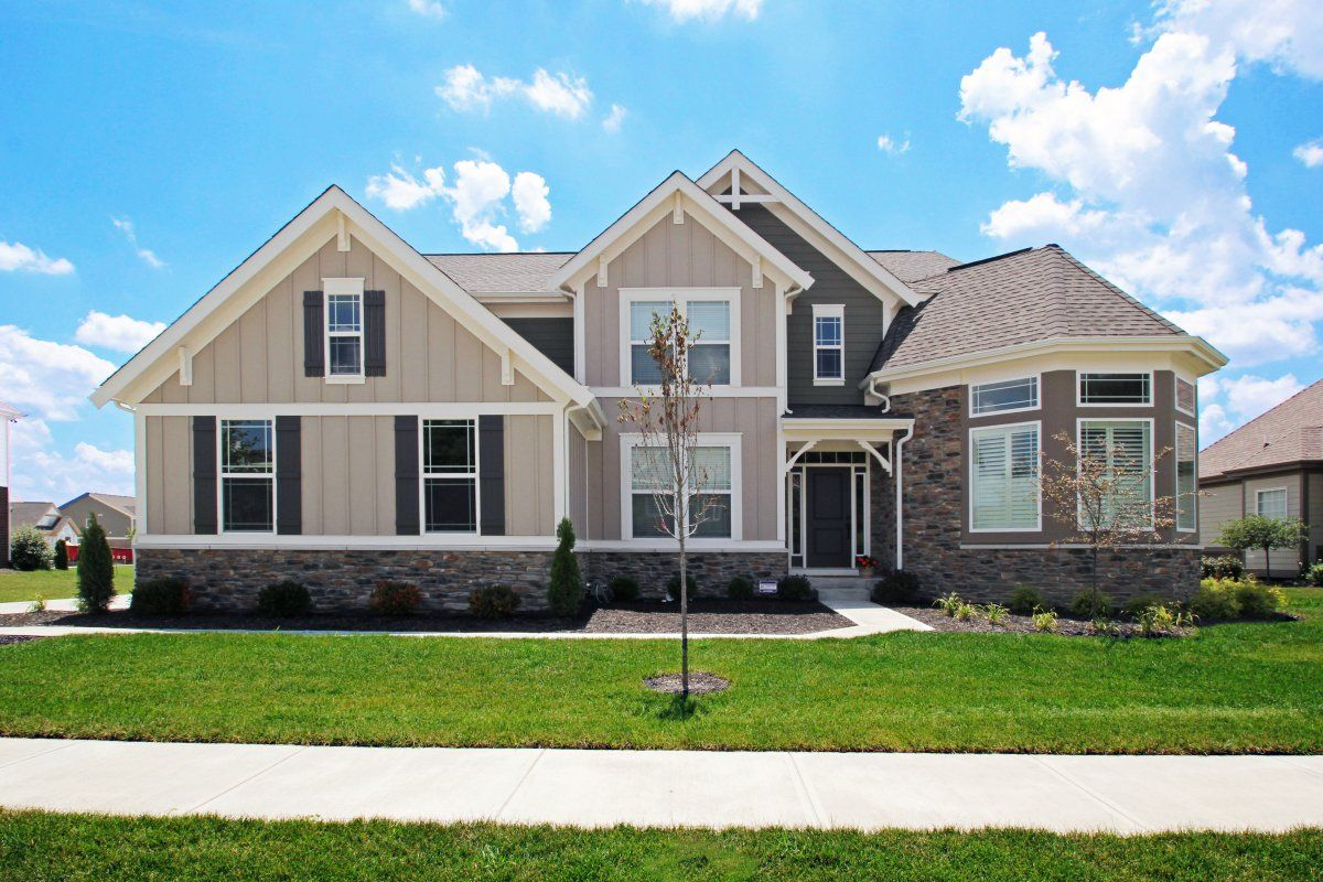 Exterior featured in the Keller By Fischer Homes  in Indianapolis, IN