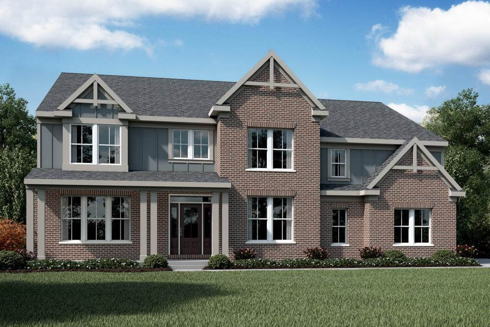 Exterior featured in the Paxton By Fischer Homes  in Indianapolis, IN