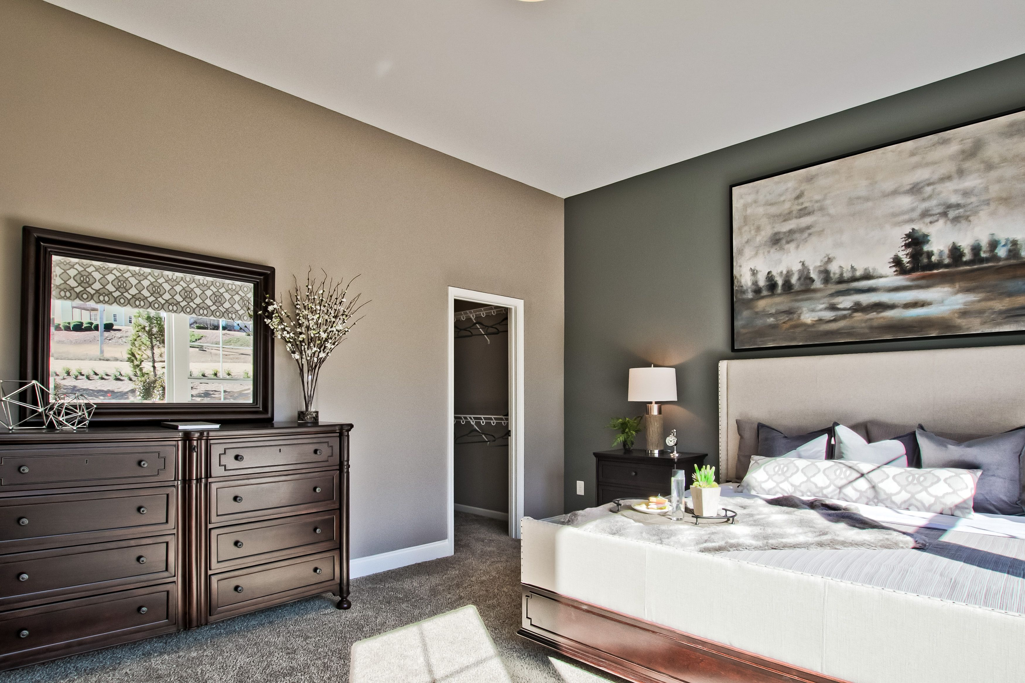 Bedroom featured in the Paxton By Fischer Homes  in Indianapolis, IN