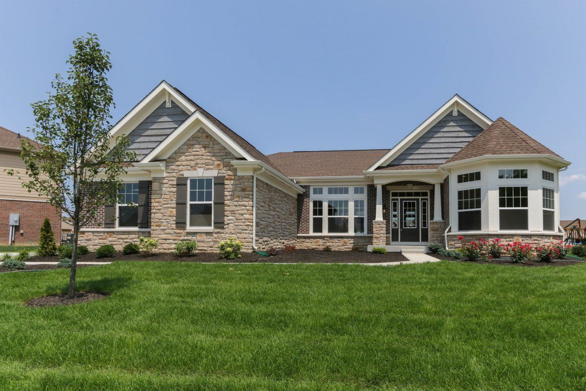 Exterior featured in the Hayden By Fischer Homes  in Columbus, OH