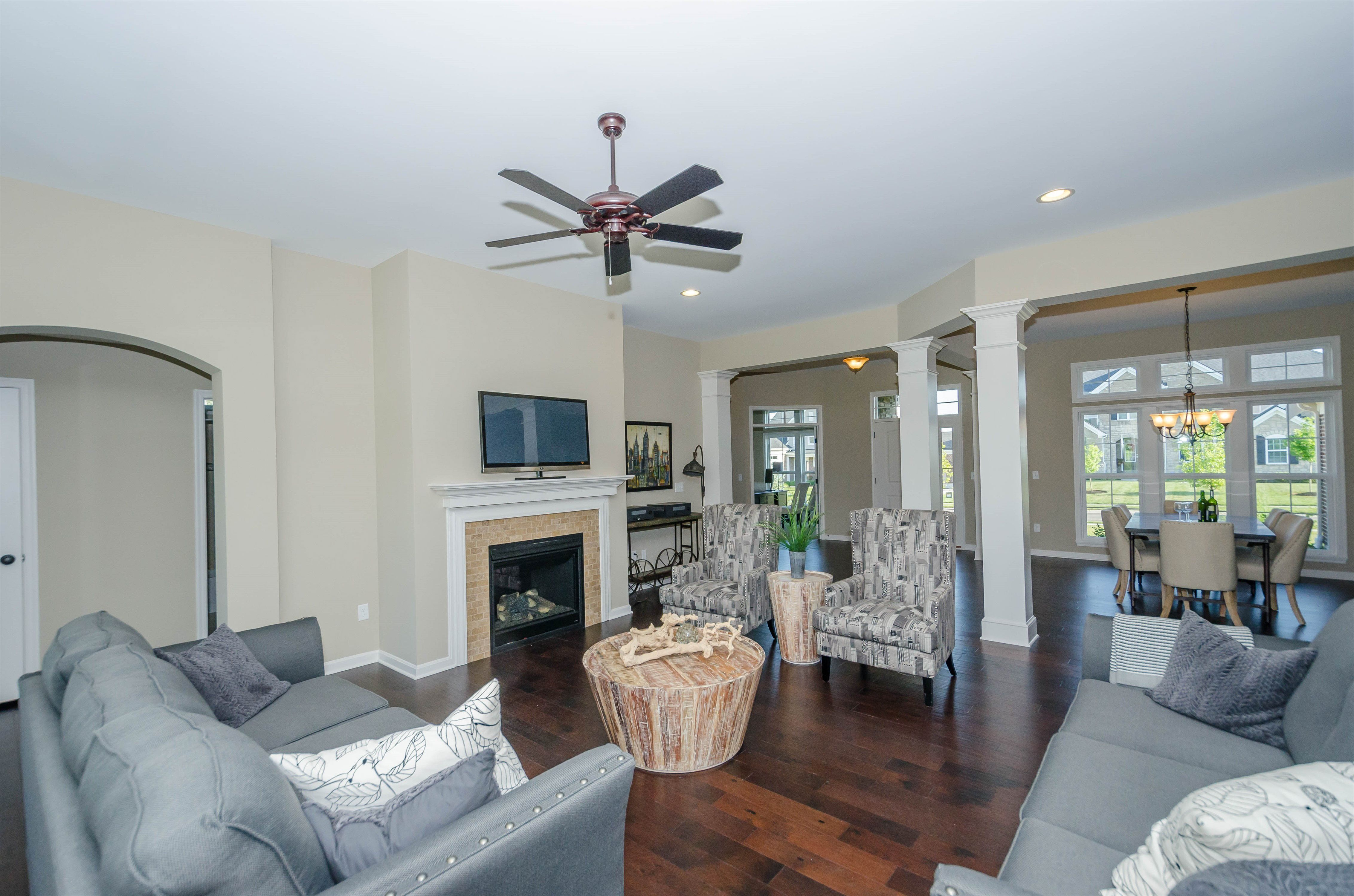Living Area featured in the Hayden By Fischer Homes  in Columbus, OH
