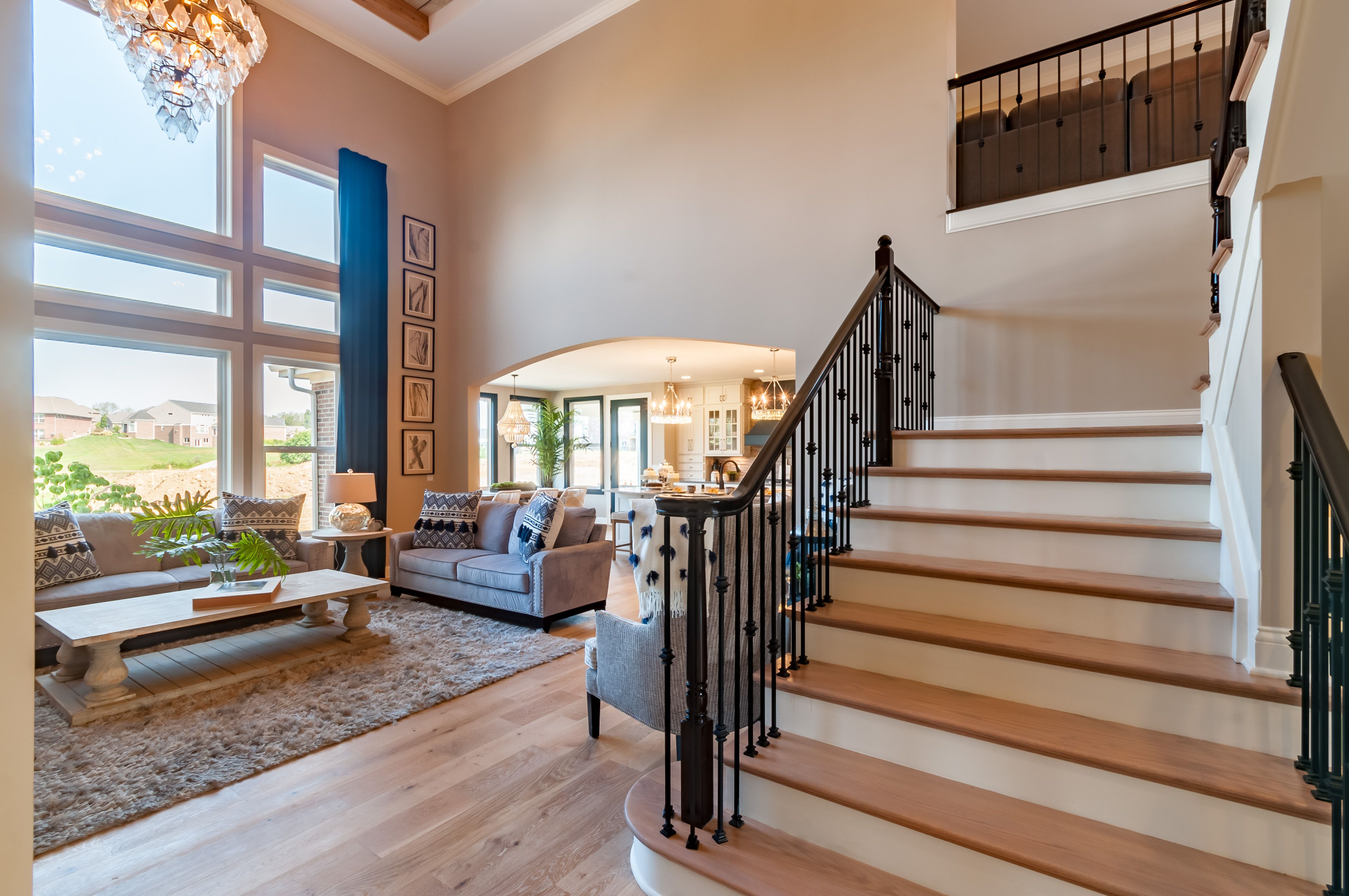 Living Area featured in the Crestview By Fischer Homes  in Indianapolis, IN