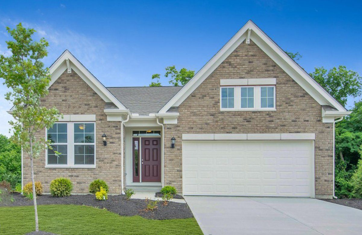 Exterior featured in the Amelia By Fischer Homes  in Dayton-Springfield, OH