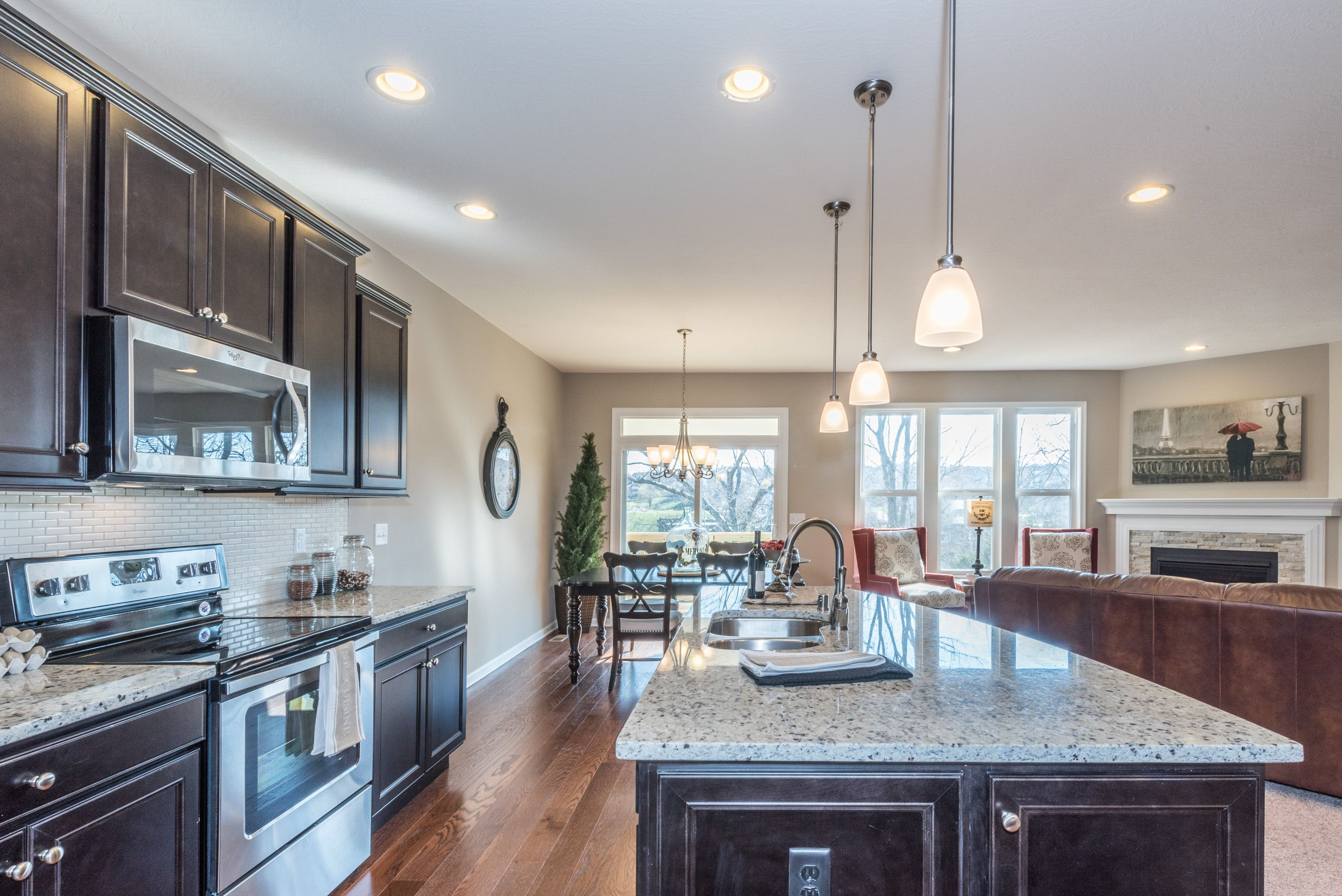 Kitchen featured in the Amelia By Fischer Homes  in Dayton-Springfield, OH