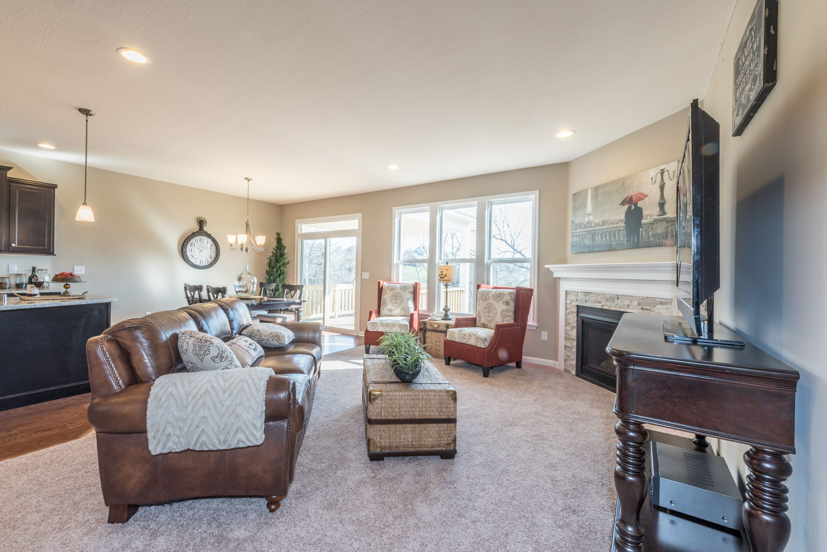 Living Area featured in the Amelia By Fischer Homes  in Dayton-Springfield, OH