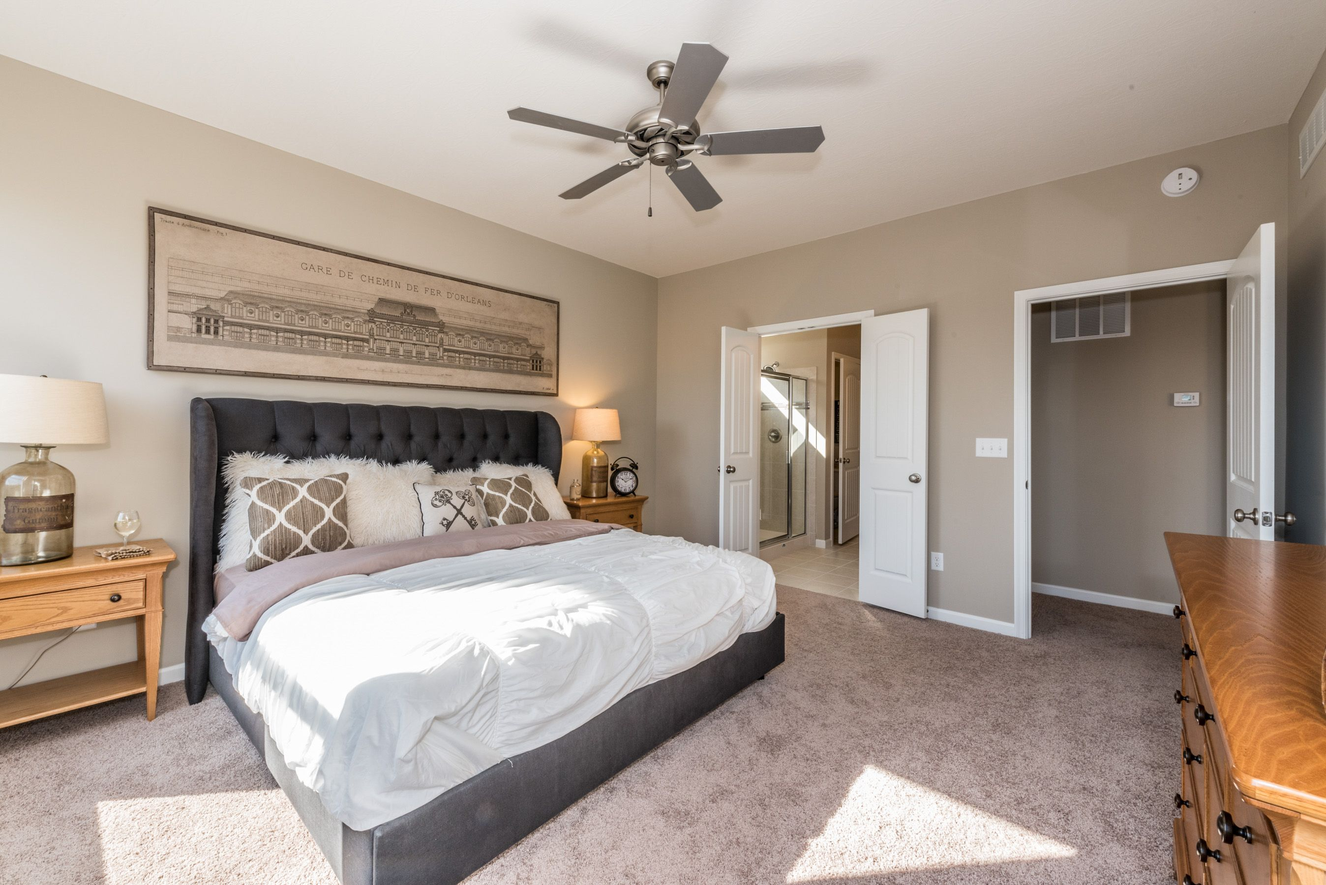 Bedroom featured in the Amelia By Fischer Homes  in Dayton-Springfield, OH