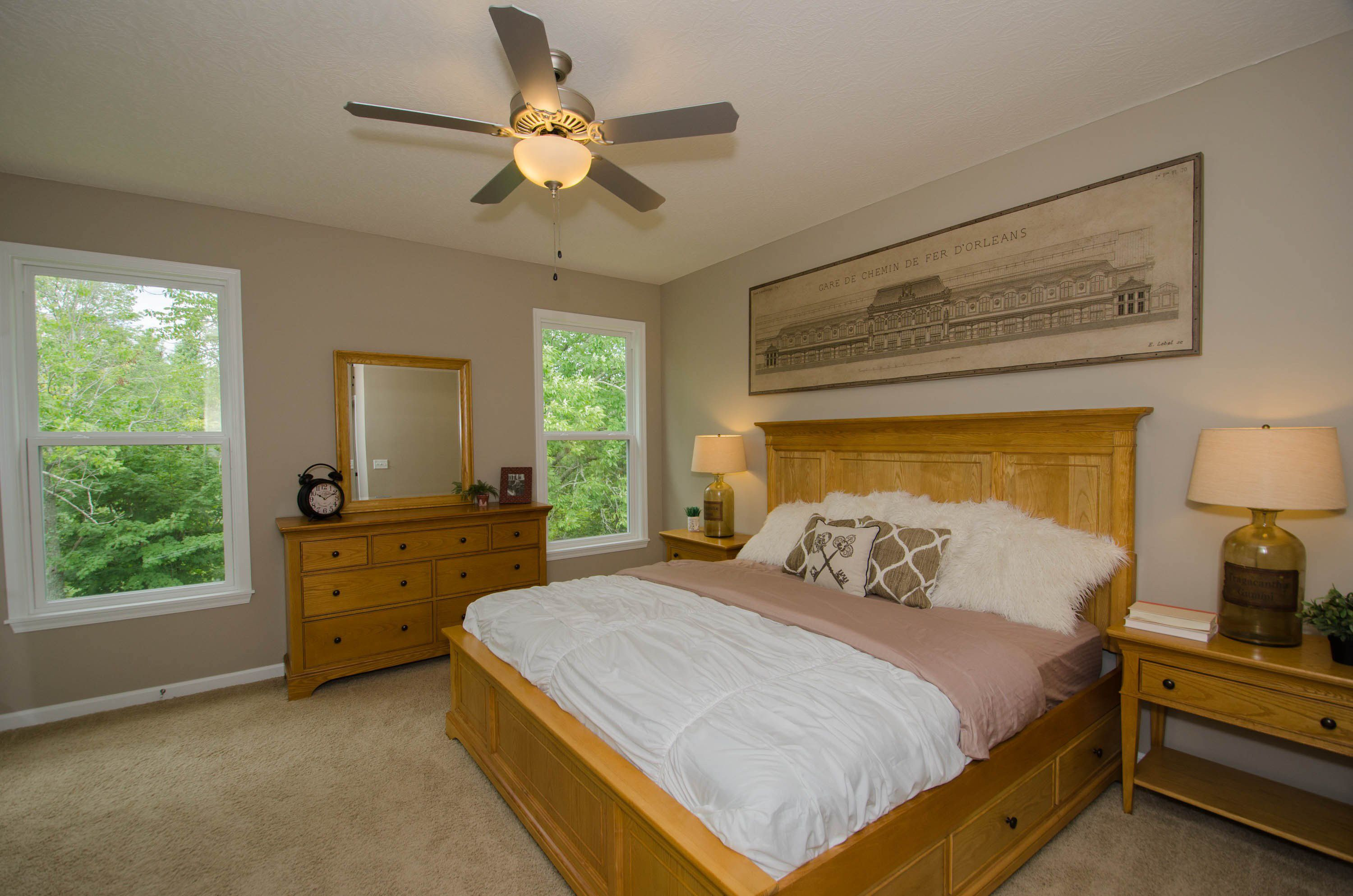 Bedroom featured in the Kiawah By Fischer Homes  in Indianapolis, IN