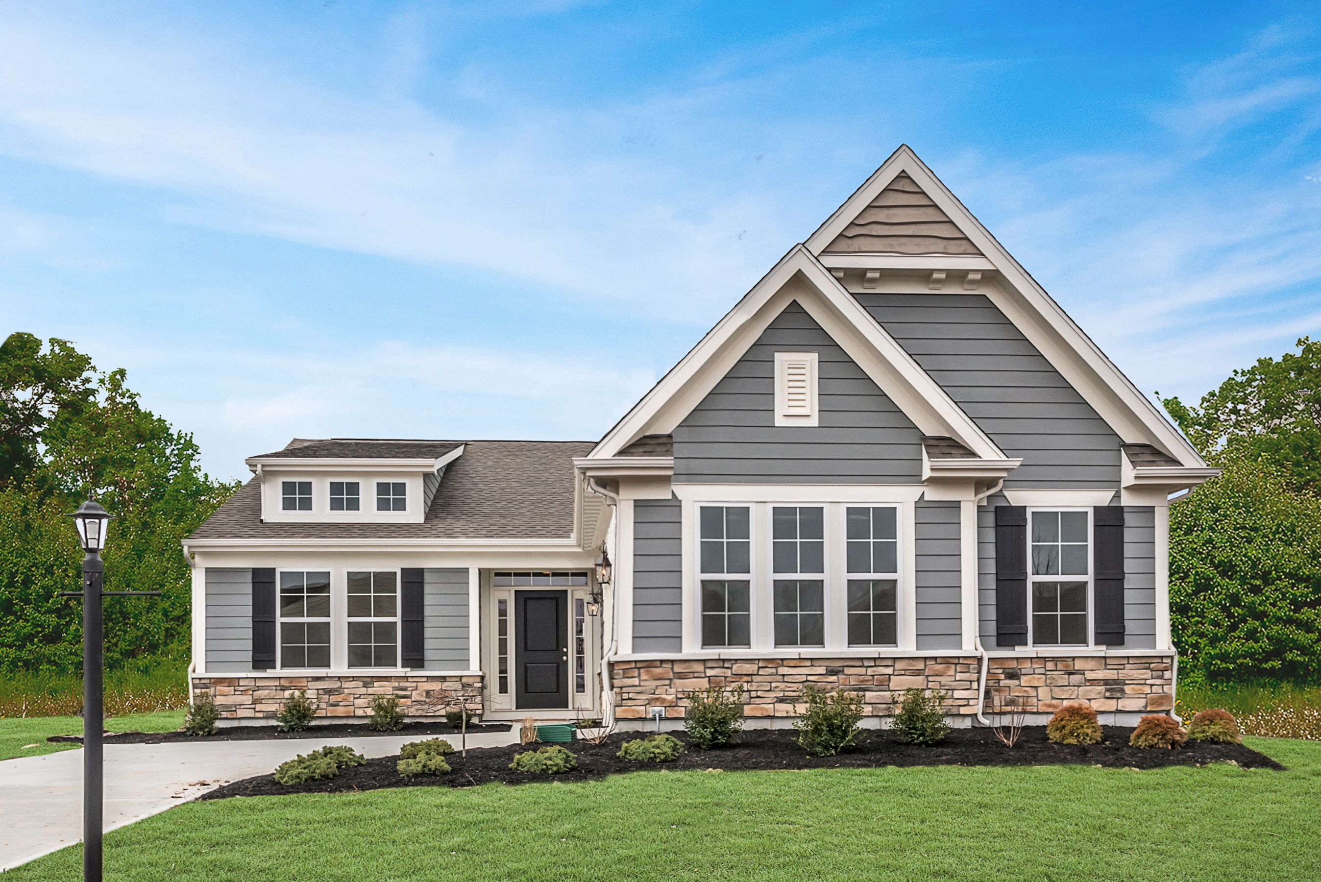 Exterior featured in the Maxwell By Fischer Homes  in Cincinnati, OH