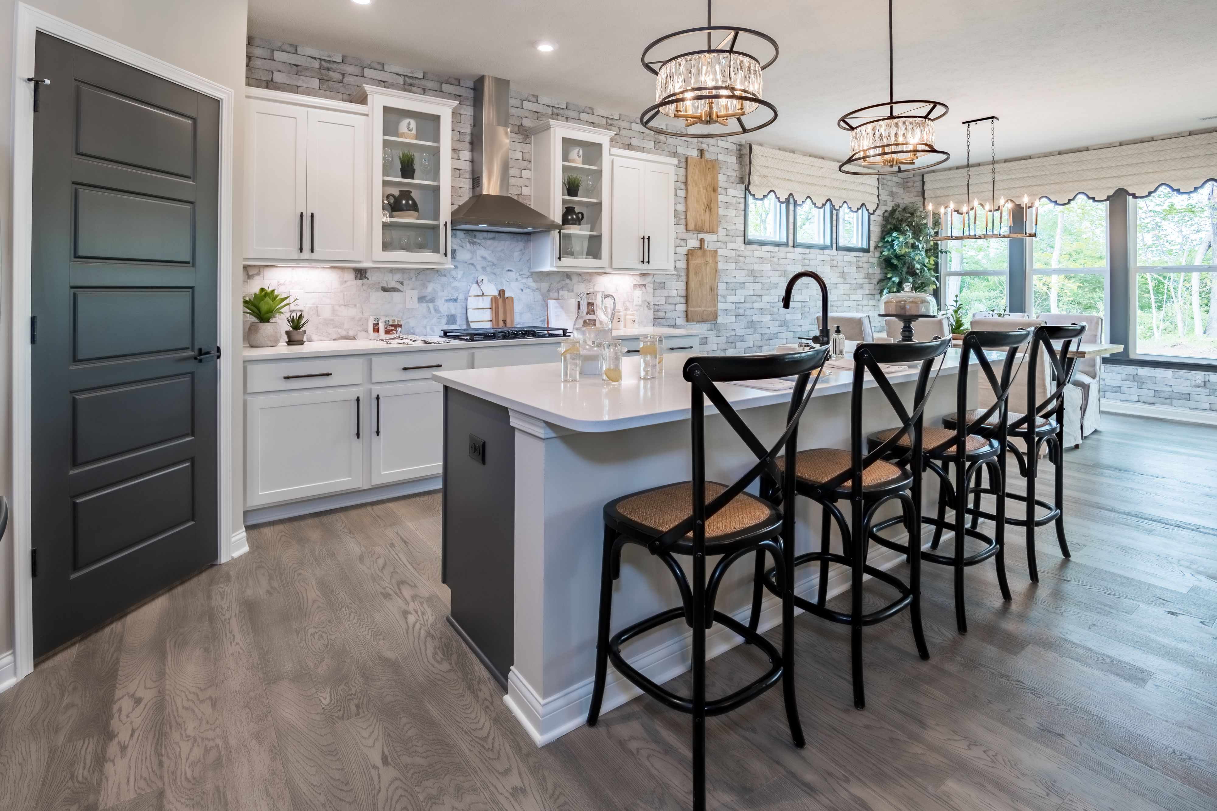 Kitchen featured in the Maxwell By Fischer Homes  in Cincinnati, OH