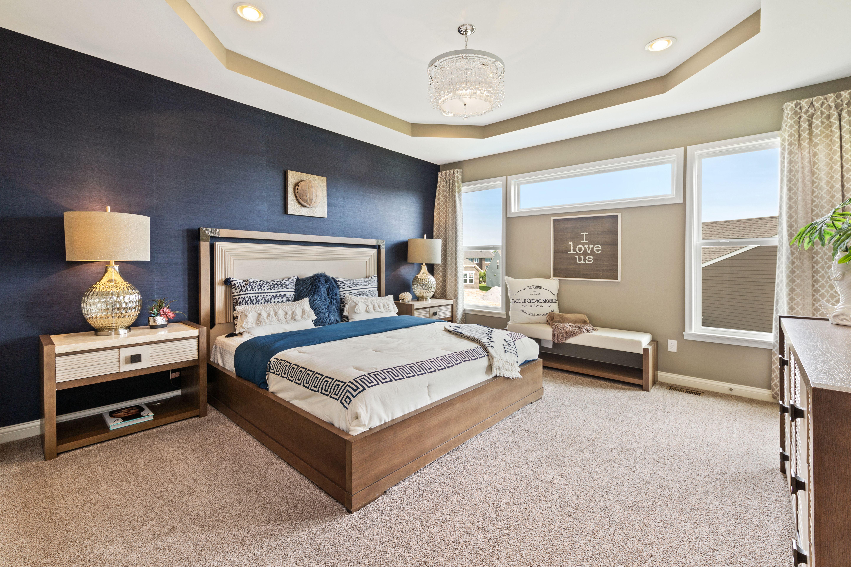 Bedroom featured in the Maxwell By Fischer Homes  in Cincinnati, OH
