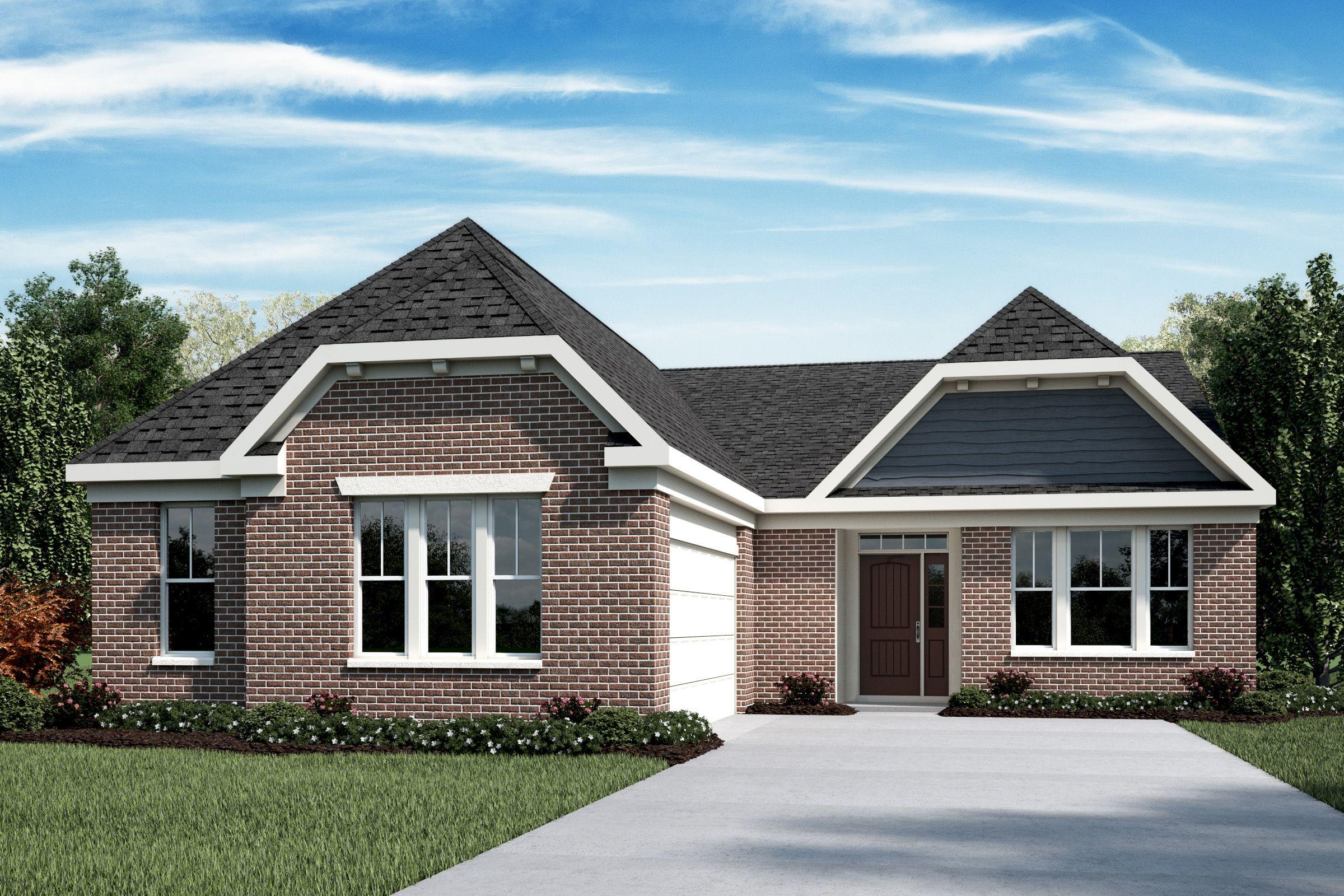 Exterior featured in the Winthrop By Fischer Homes  in Cincinnati, OH